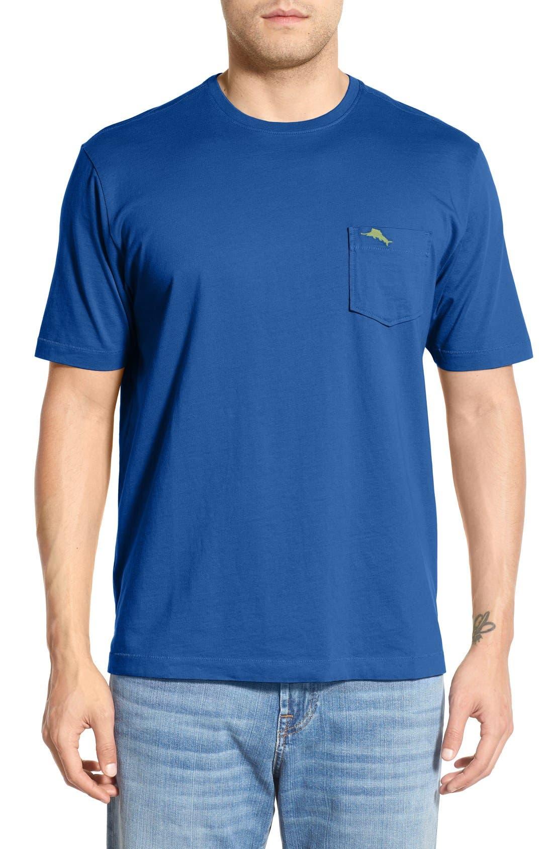 New Bali Sky Pima Cotton Pocket T-Shirt,                             Main thumbnail 31, color,