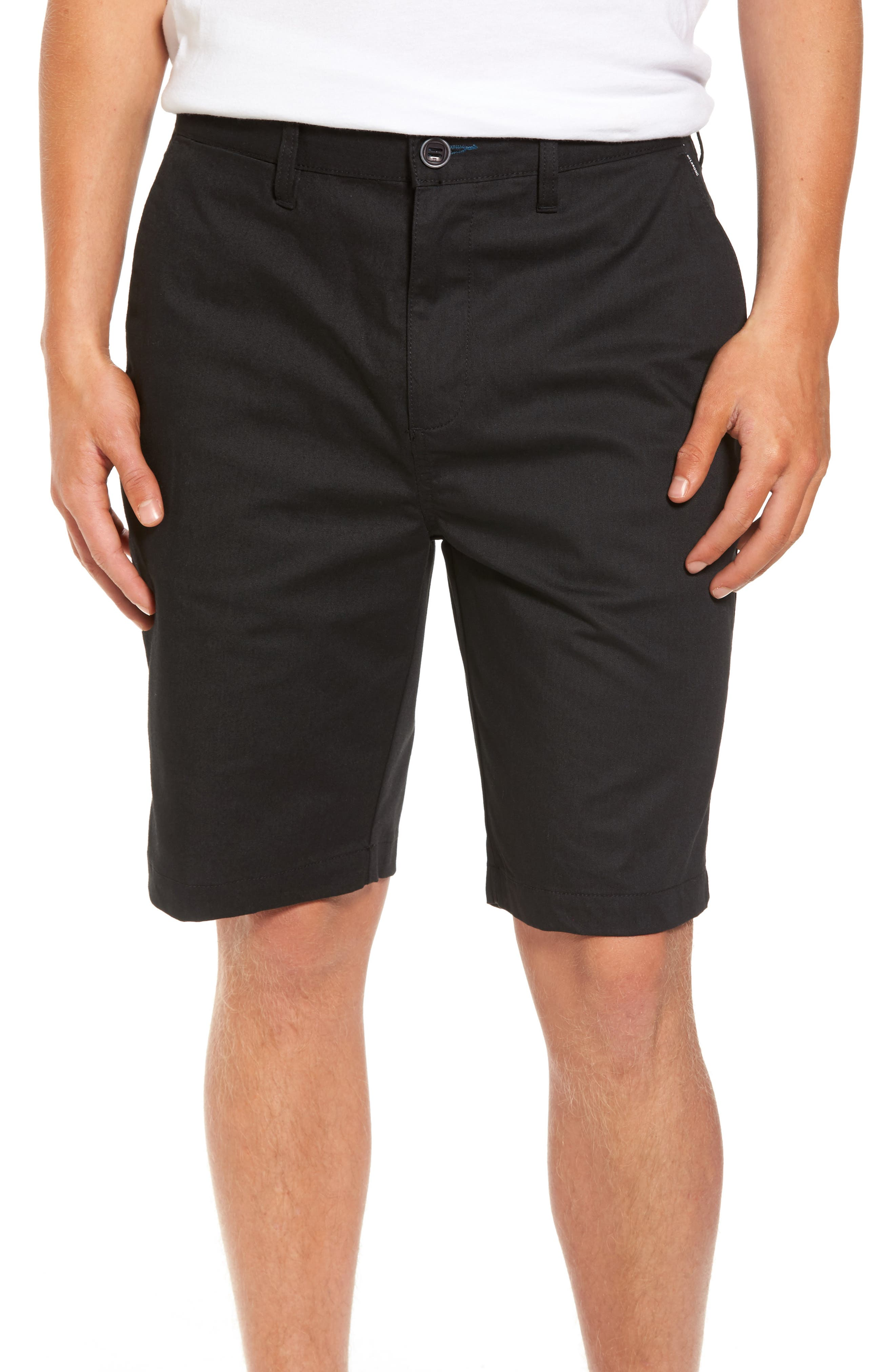Carter Stretch Twill Shorts,                             Main thumbnail 1, color,                             002