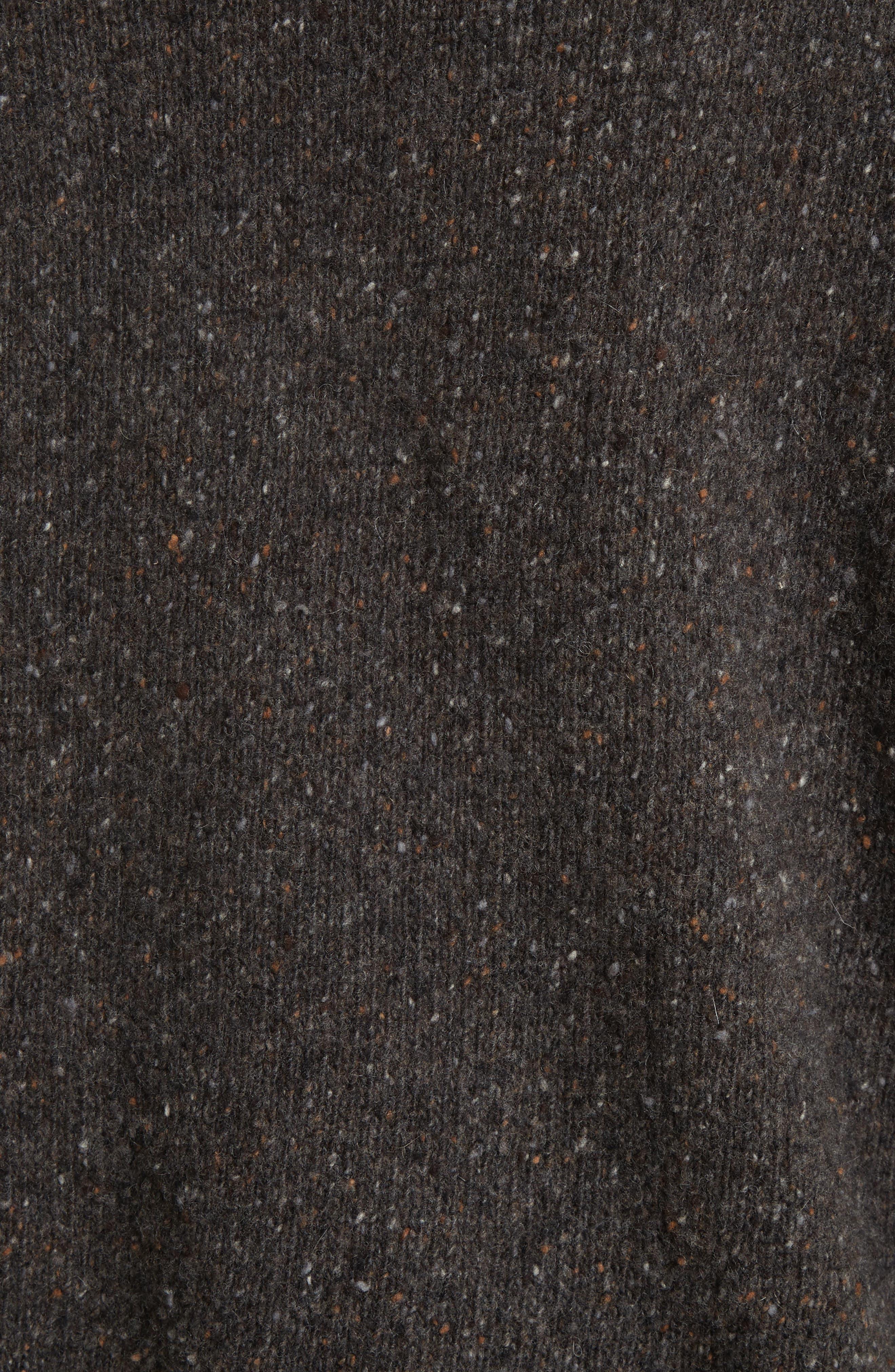 Cashmere Turtleneck Sweater,                             Alternate thumbnail 5, color,                             060
