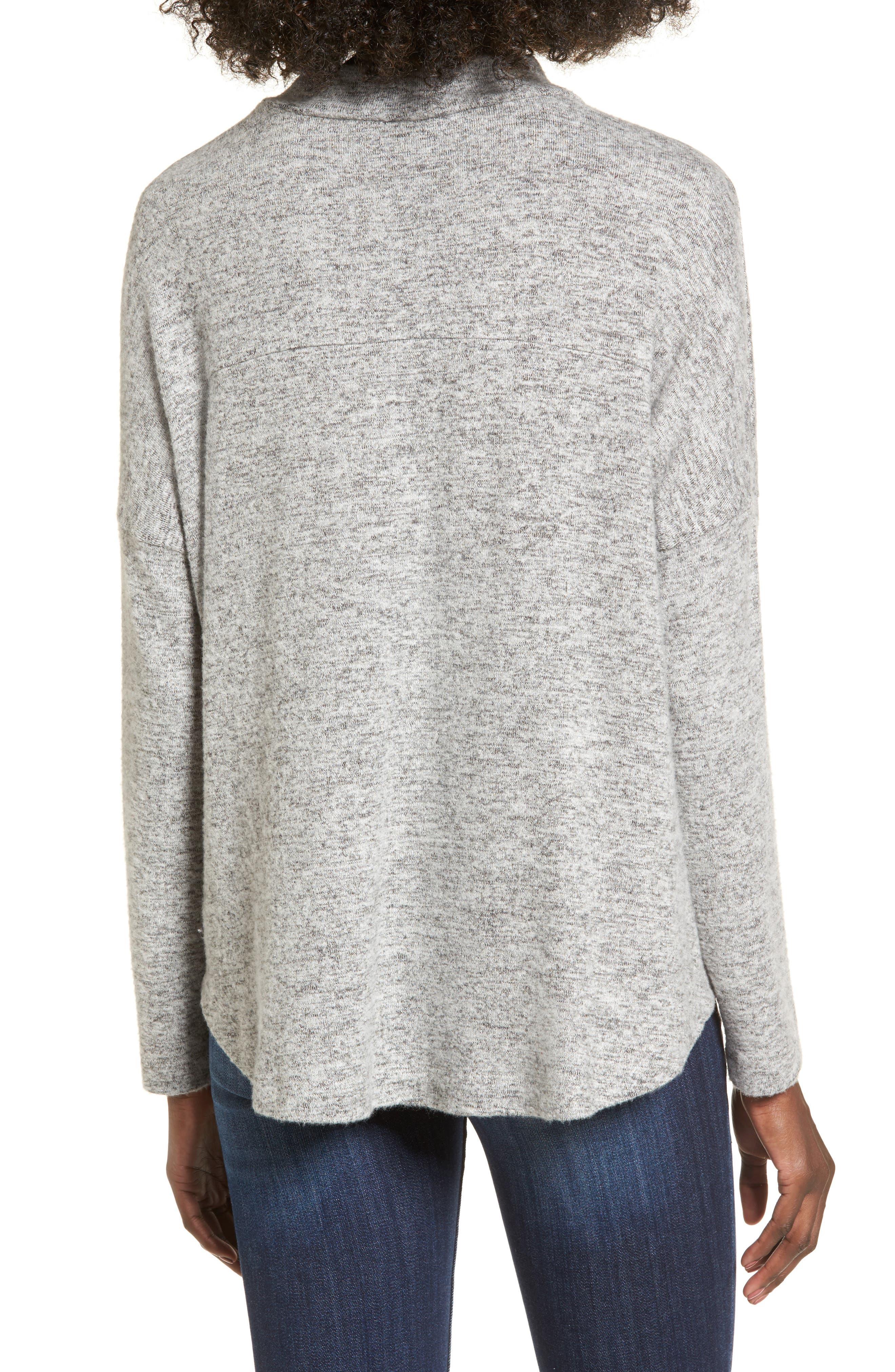 Mock Neck Sweater,                             Alternate thumbnail 2, color,                             020