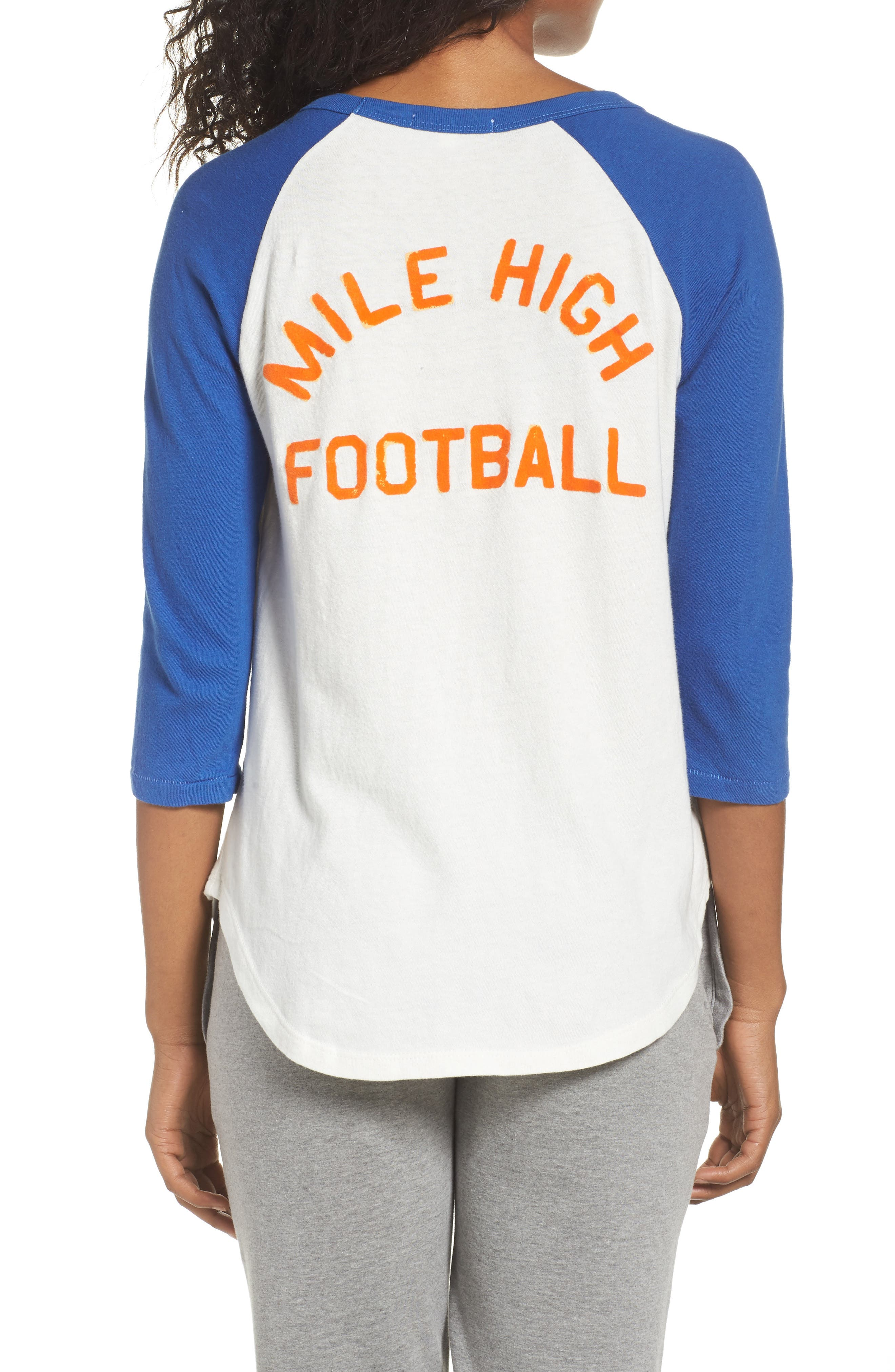 NFL Denver Broncos Raglan Tee,                             Alternate thumbnail 2, color,                             189
