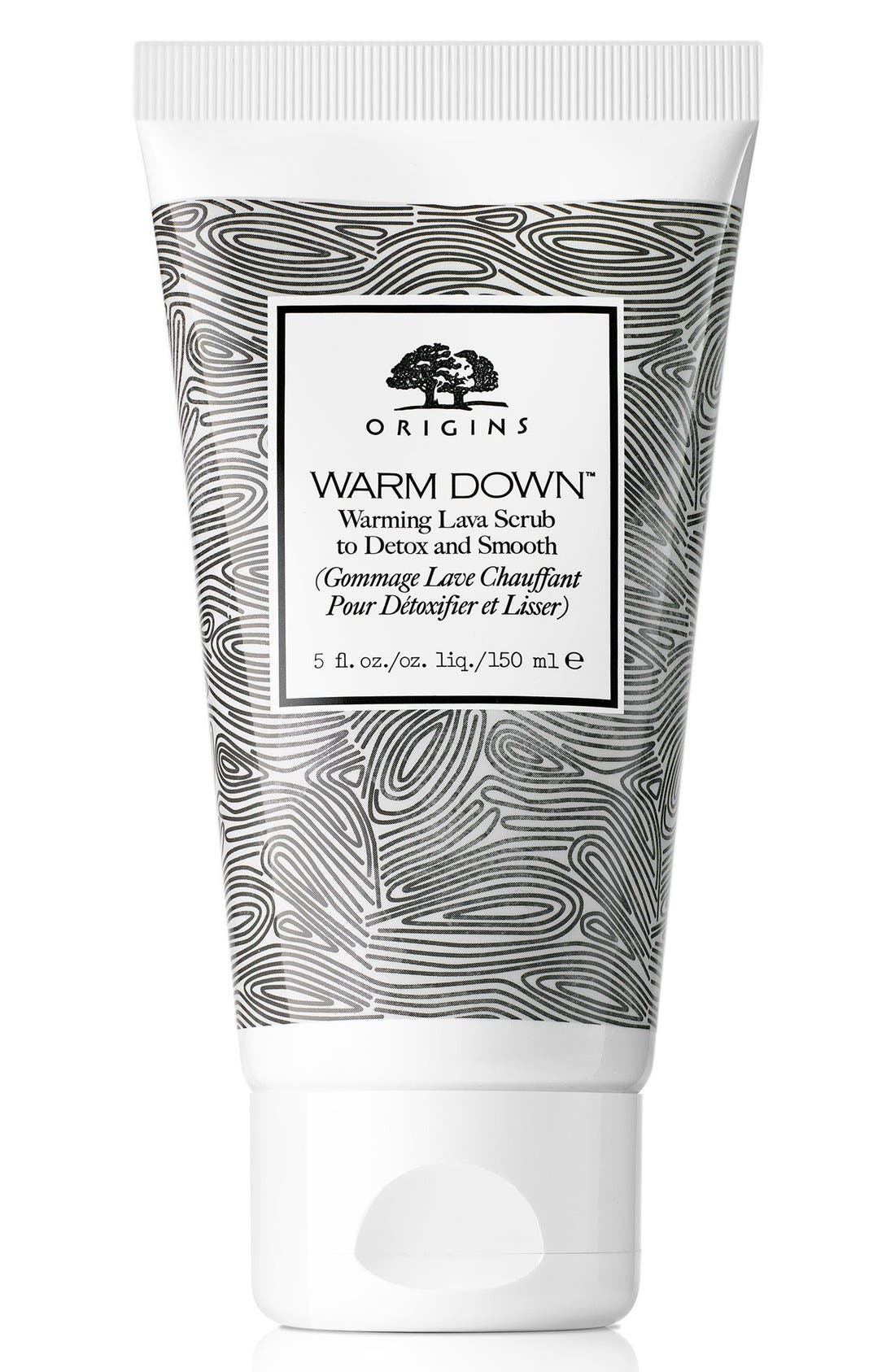 Warm Down<sup>™</sup> Warming Lava Scrub to Detox and Smooth,                         Main,                         color, NO COLOR