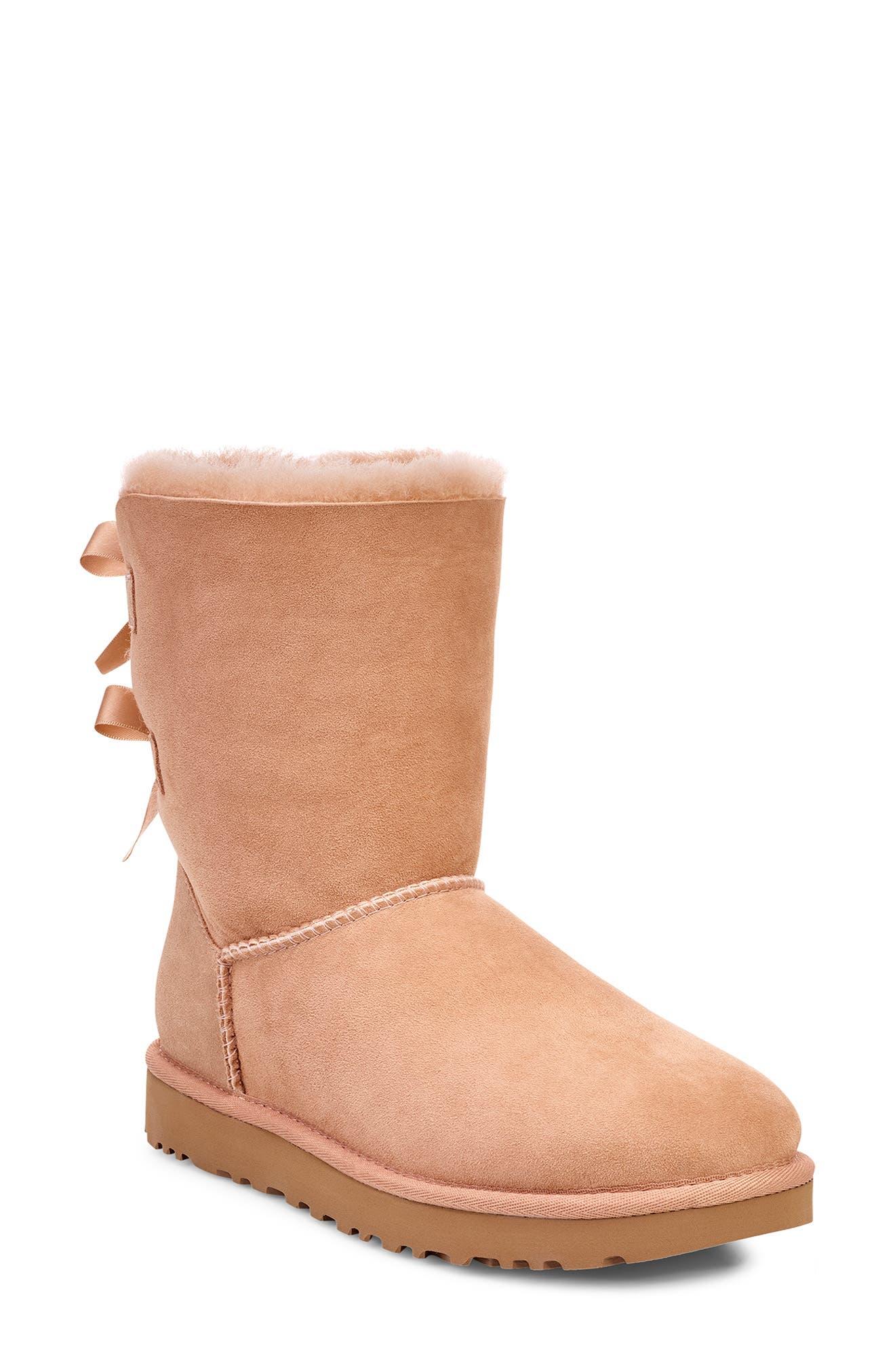 'Bailey Bow II' Boot,                         Main,                         color, ARROYO SUEDE
