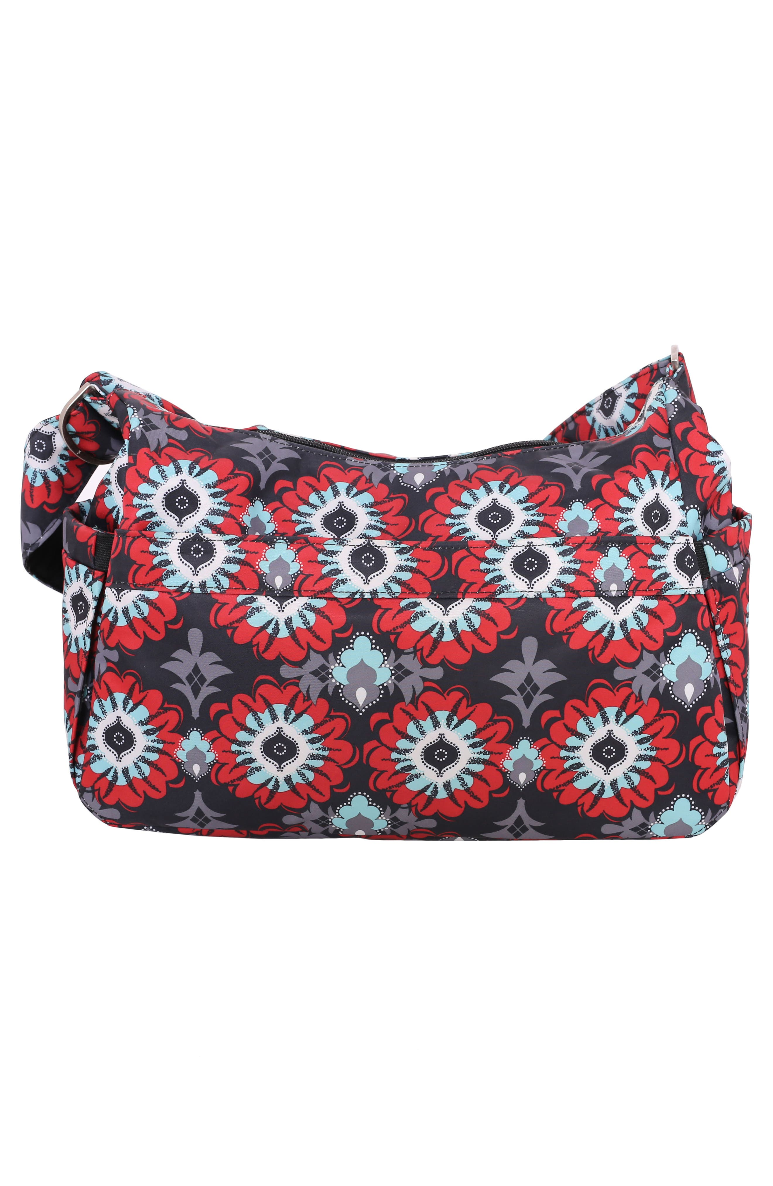'HoboBe' Diaper Bag,                             Alternate thumbnail 3, color,                             SWEET SCARLET