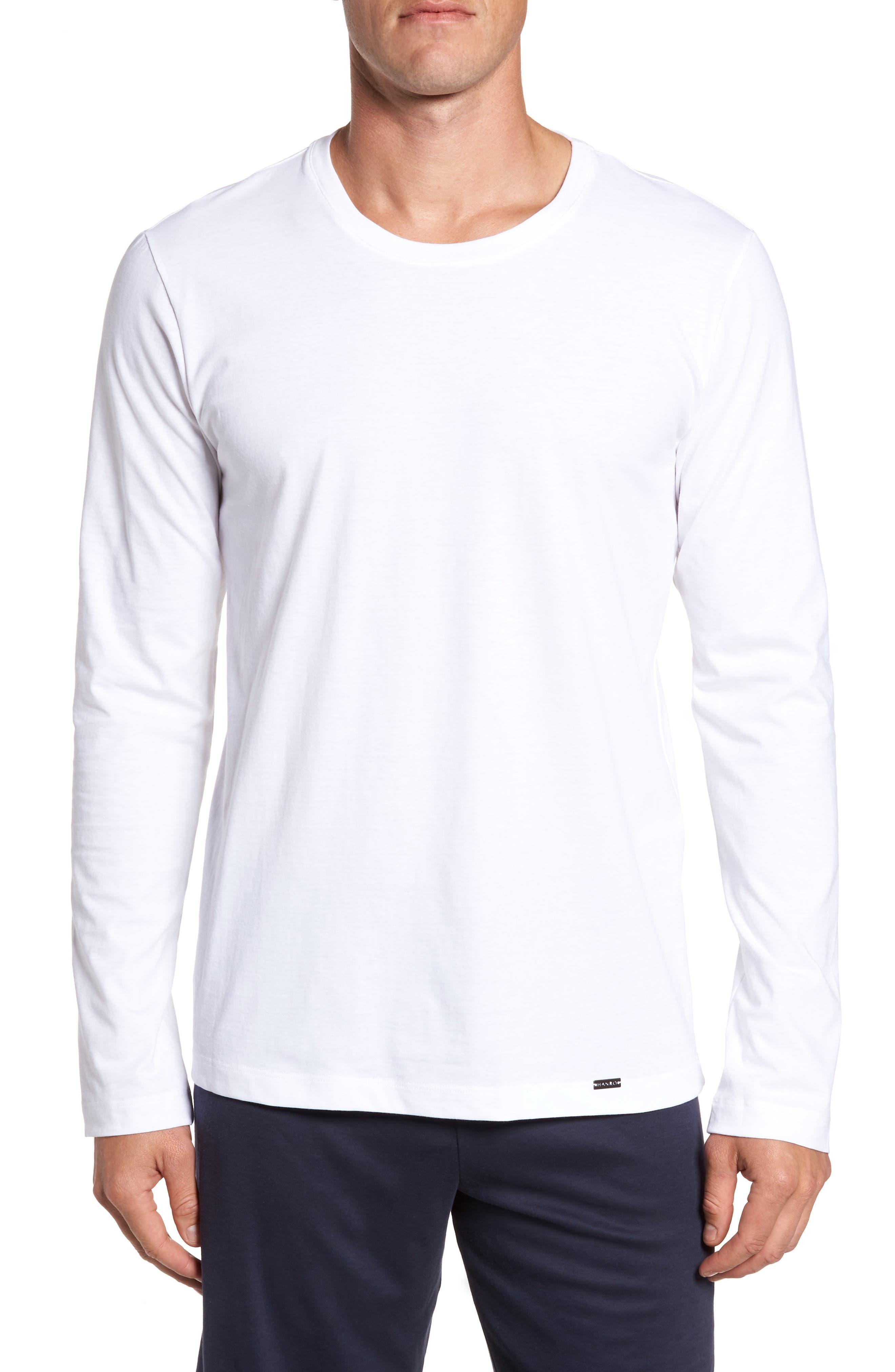 Living Long Sleeve T-Shirt,                         Main,                         color, WHITE