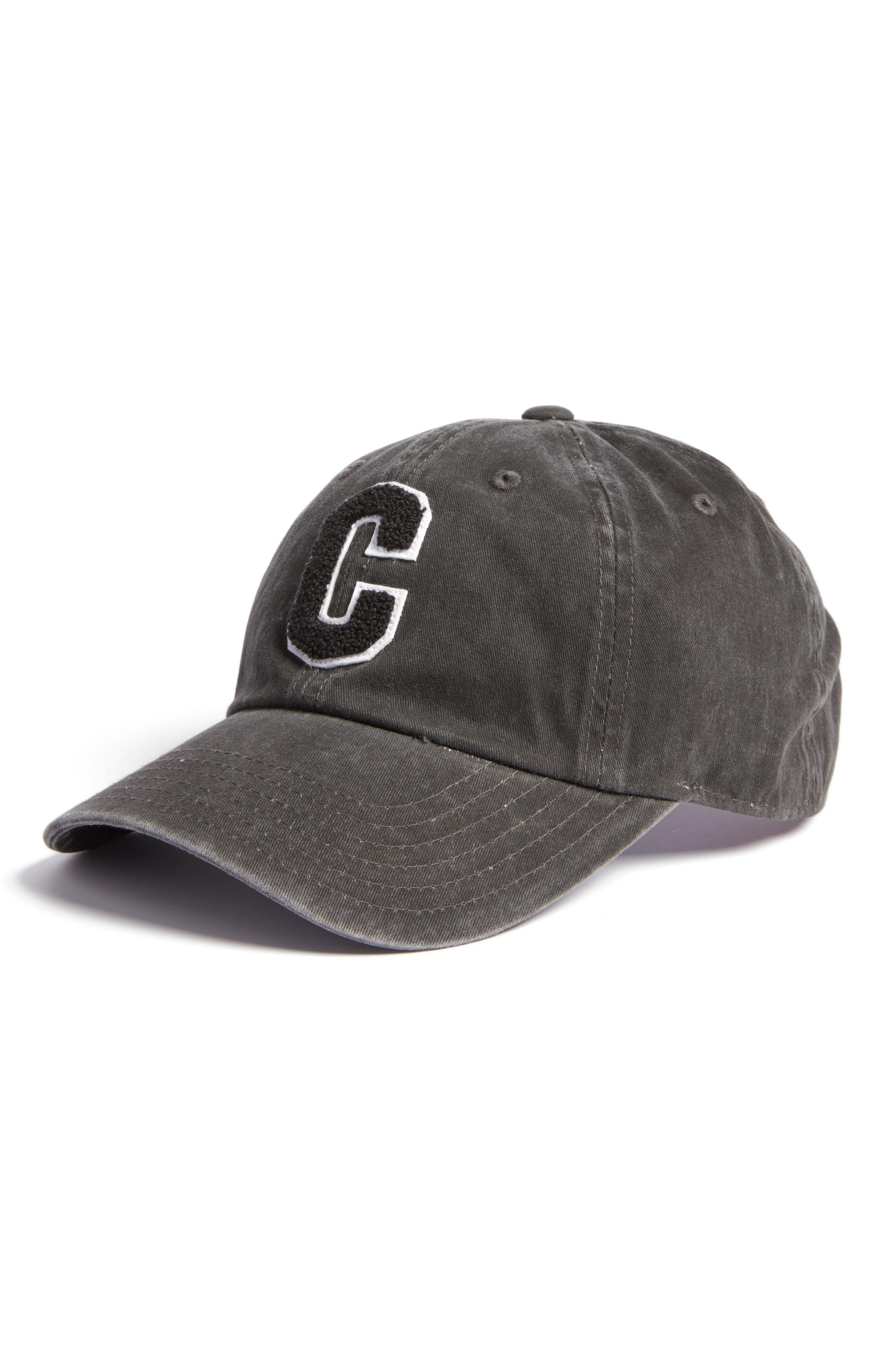 AMERICAN NEEDLE Initial Baseball Cap, Main, color, 002