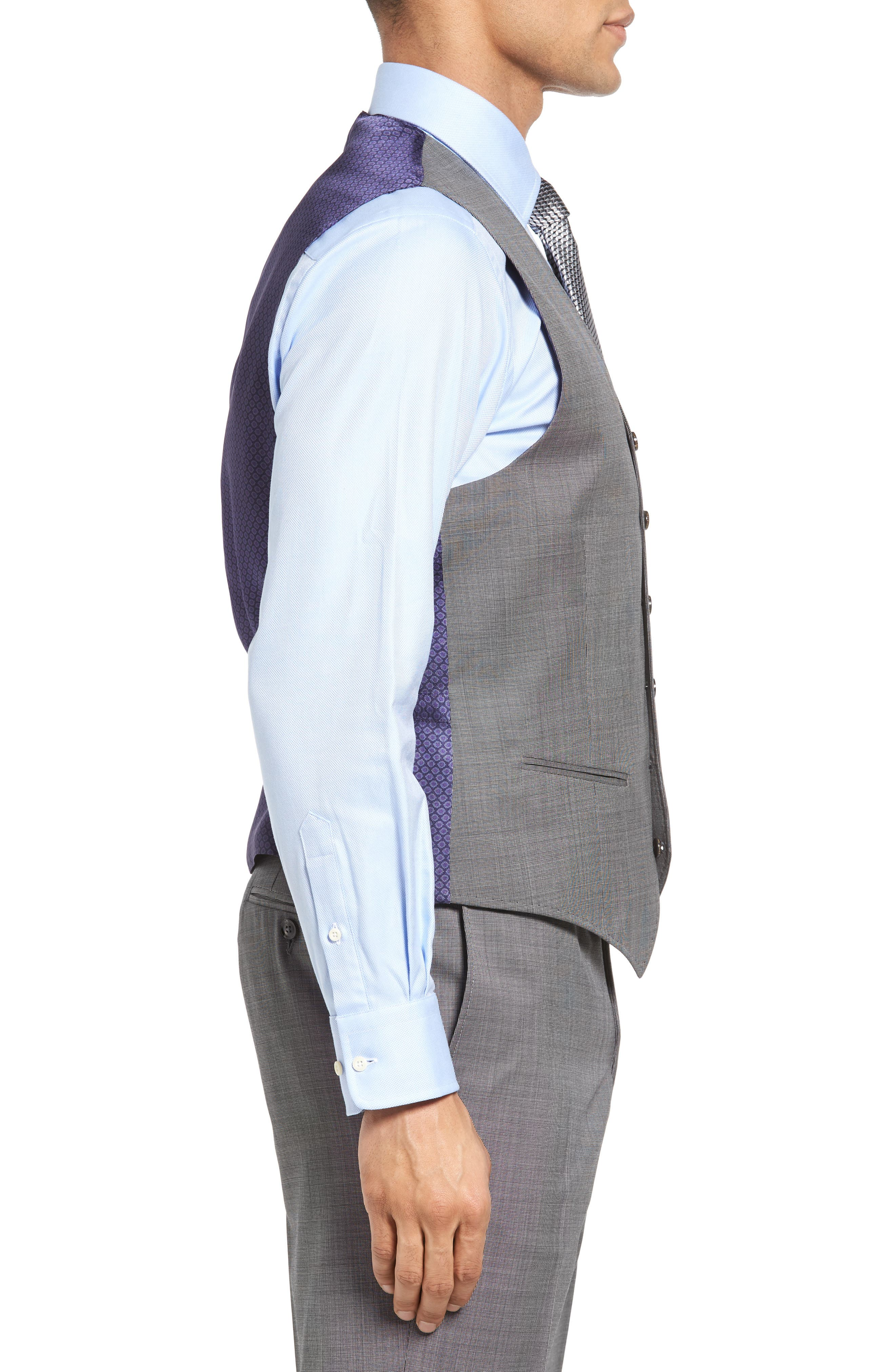 Jones Trim Fit Wool Vest,                             Alternate thumbnail 13, color,