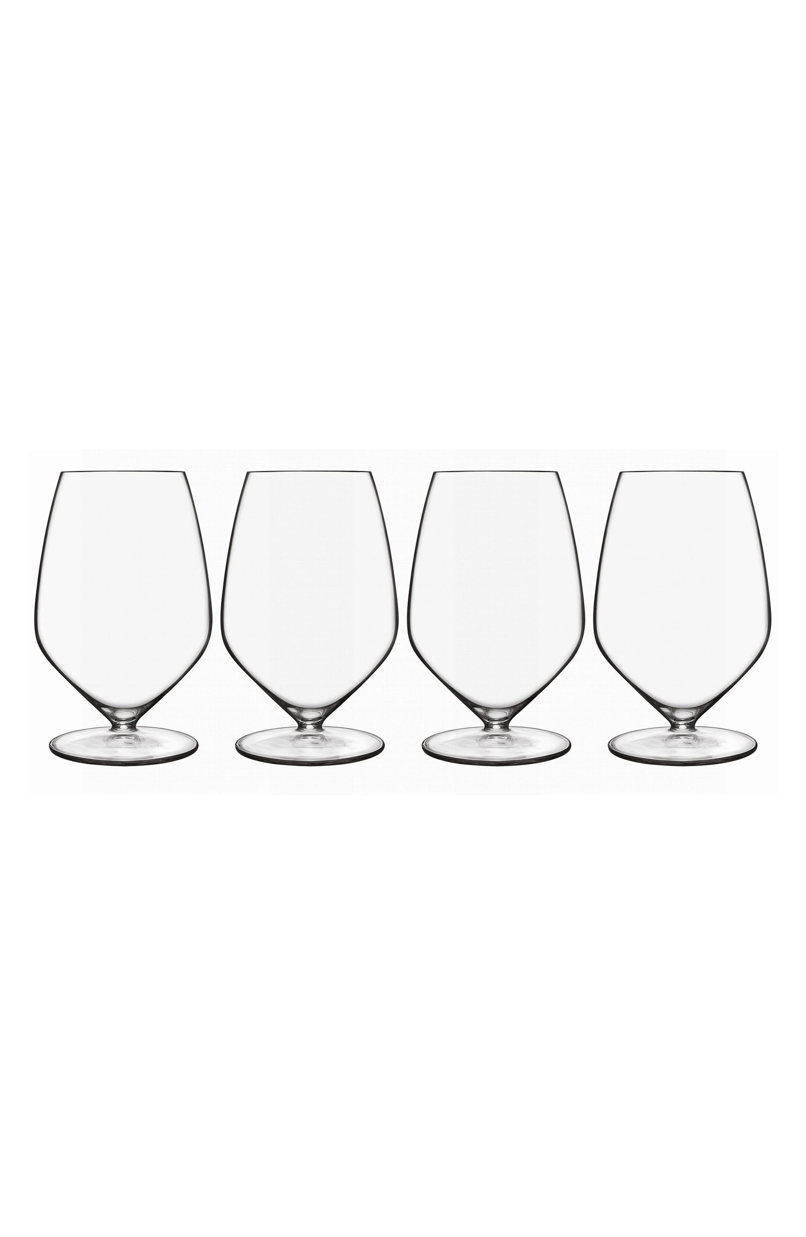 T-Glass Set of 4 Cabernet/Merlot Glasses,                             Main thumbnail 1, color,                             100