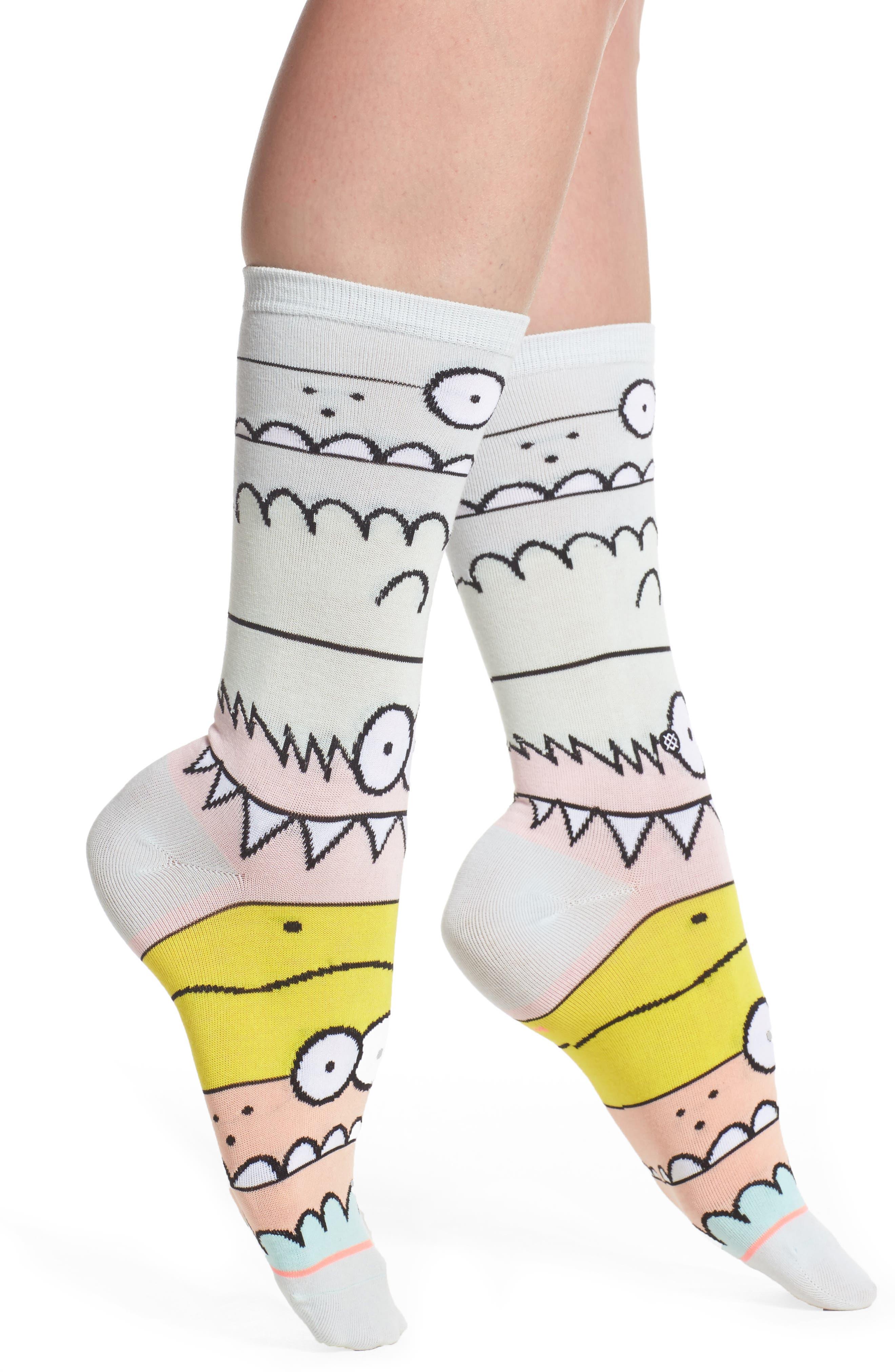 Monster Mash Socks,                         Main,                         color, 400