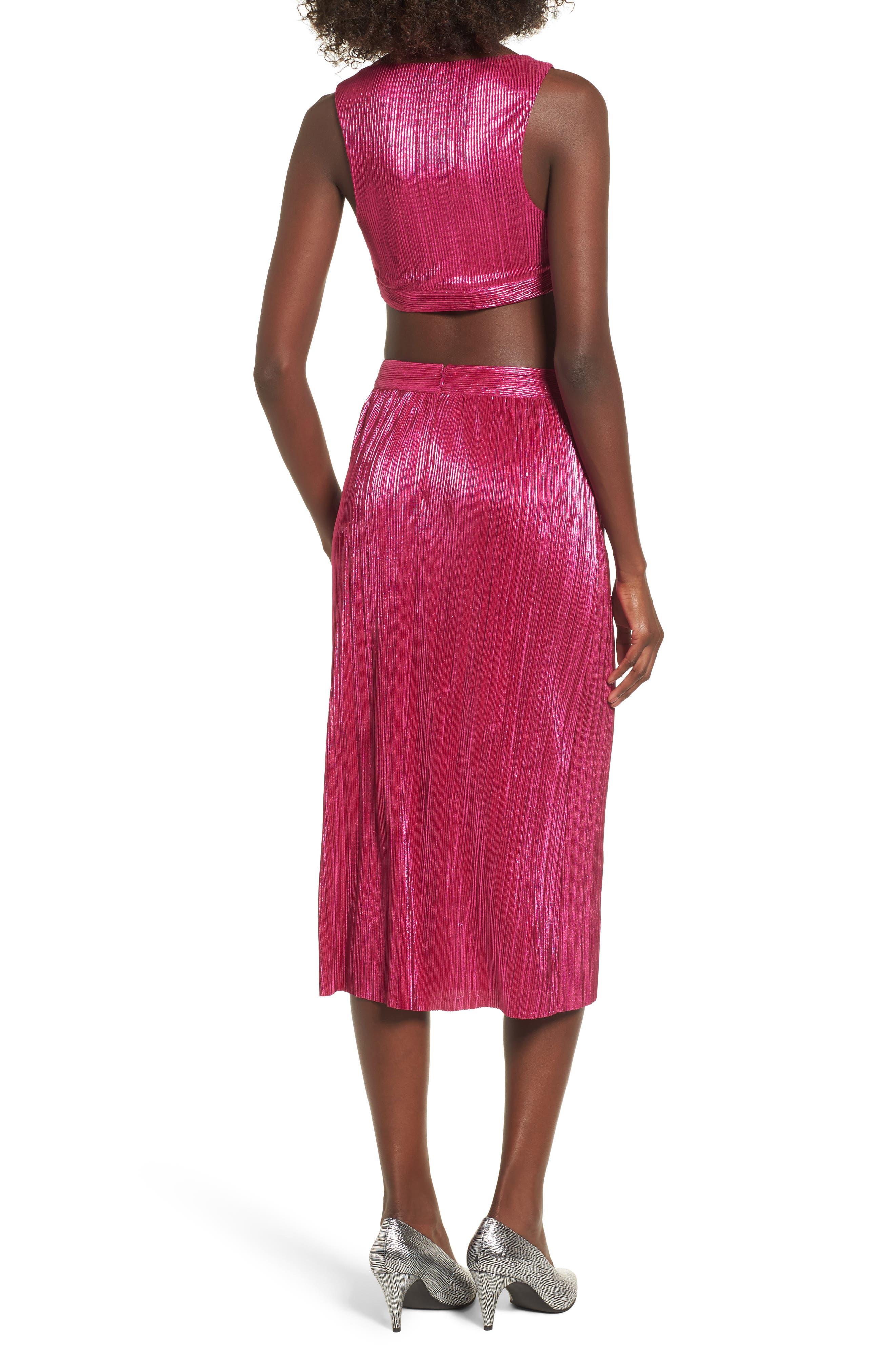 Marion Midi Skirt,                             Alternate thumbnail 8, color,                             650