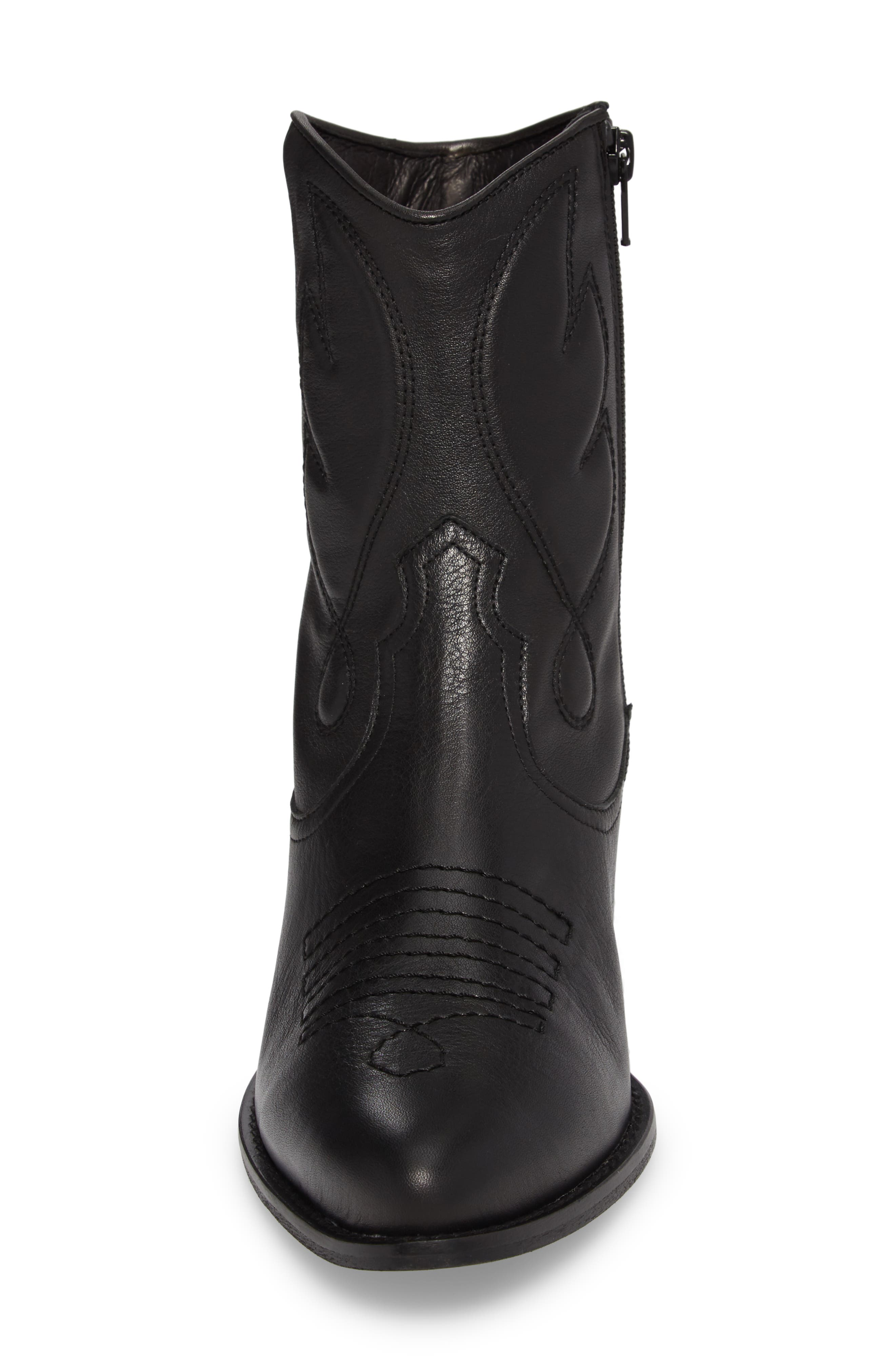Arizona Western Boot,                             Alternate thumbnail 4, color,                             001