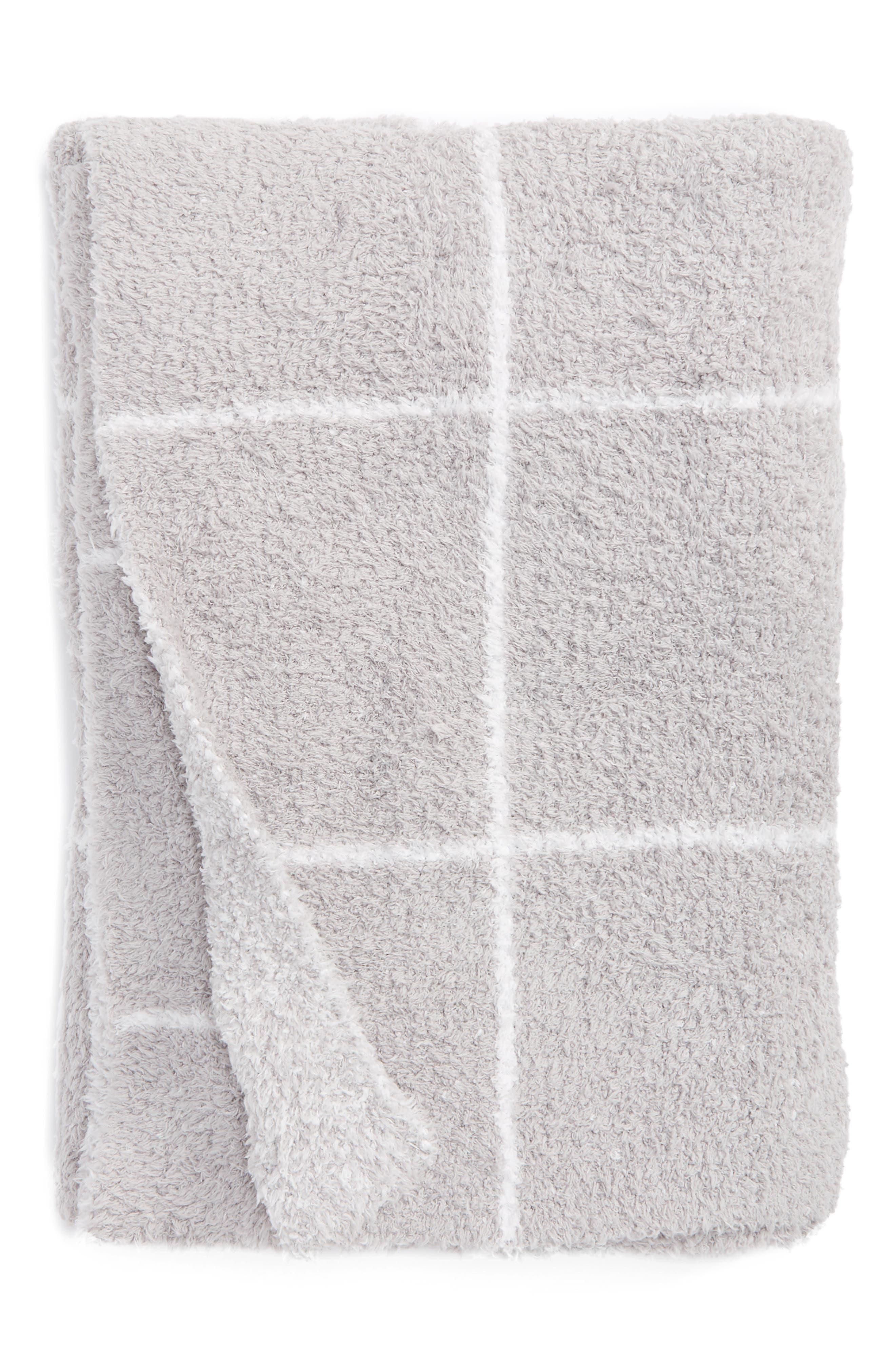 Cozychic<sup>®</sup> Windowpane Plaid Throw Blanket,                         Main,                         color, 053