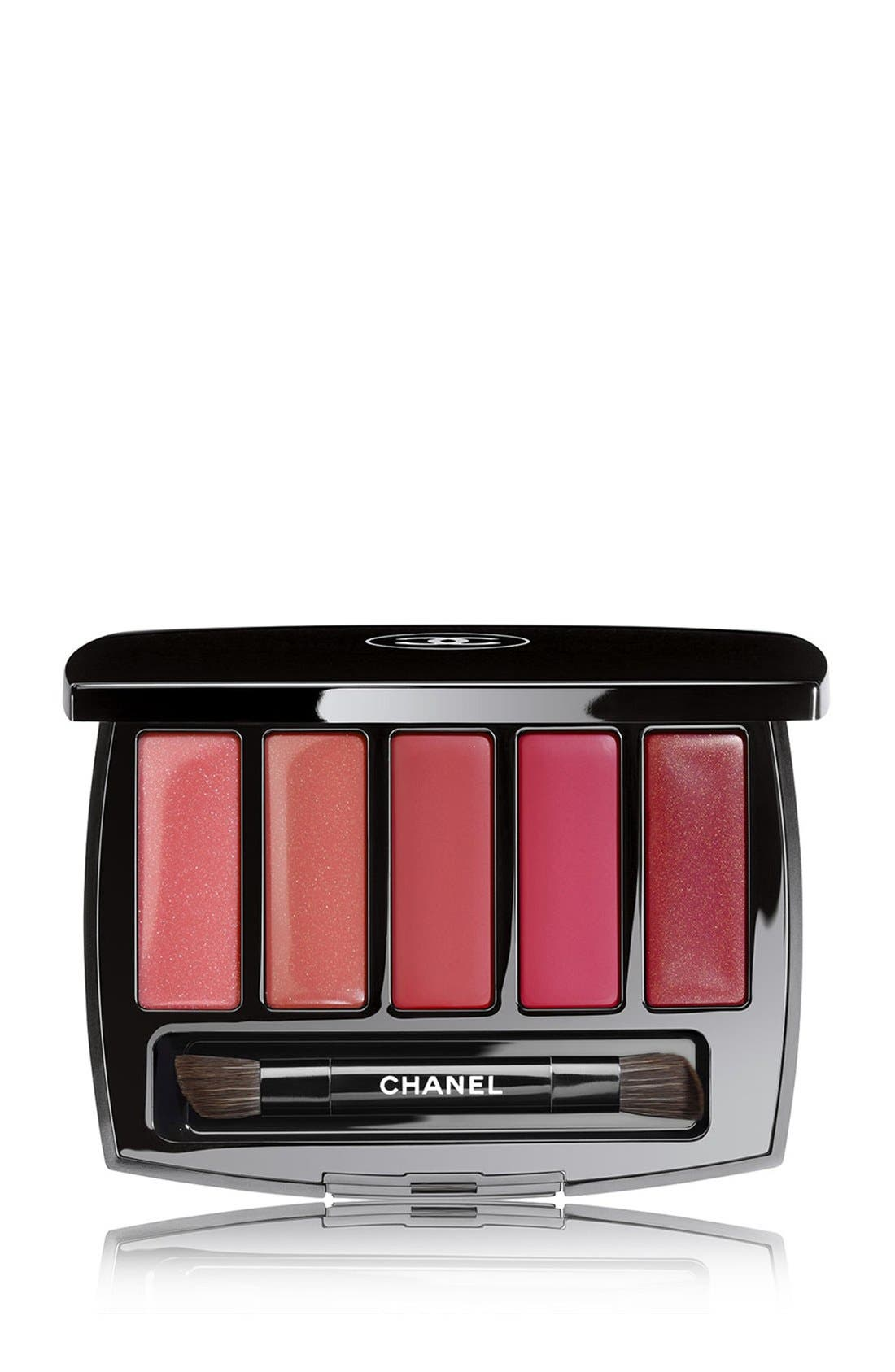 CHANEL,                             HARMONIE LEVRES ARABESQUE<br />Lip Palette,                             Main thumbnail 1, color,                             650