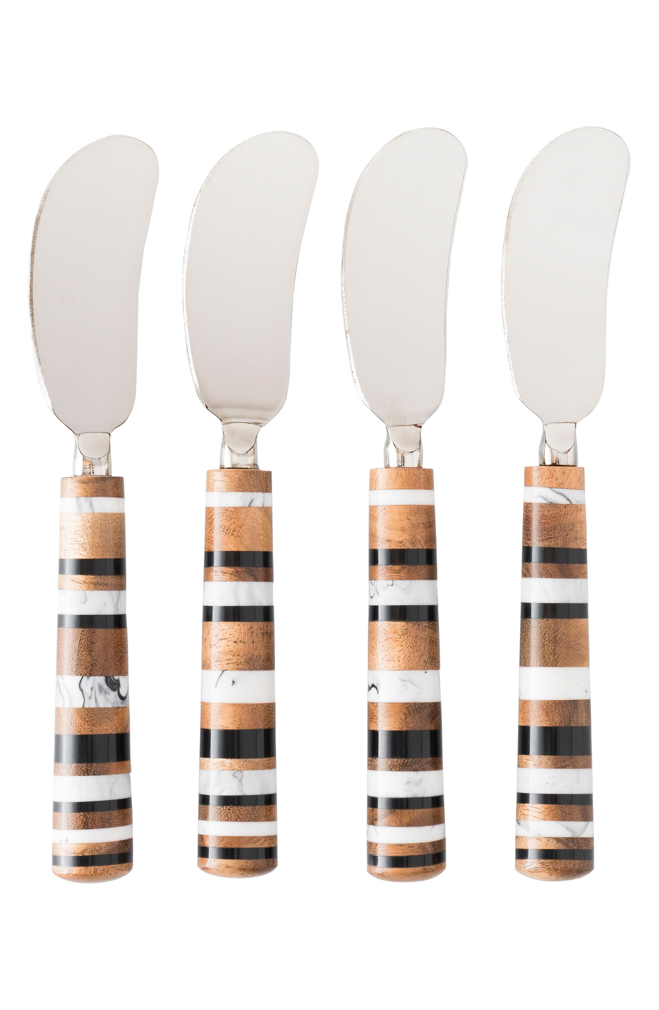 Stonewood Stripe Set of 4 Spreaders,                         Main,                         color, NATURAL STRIPE