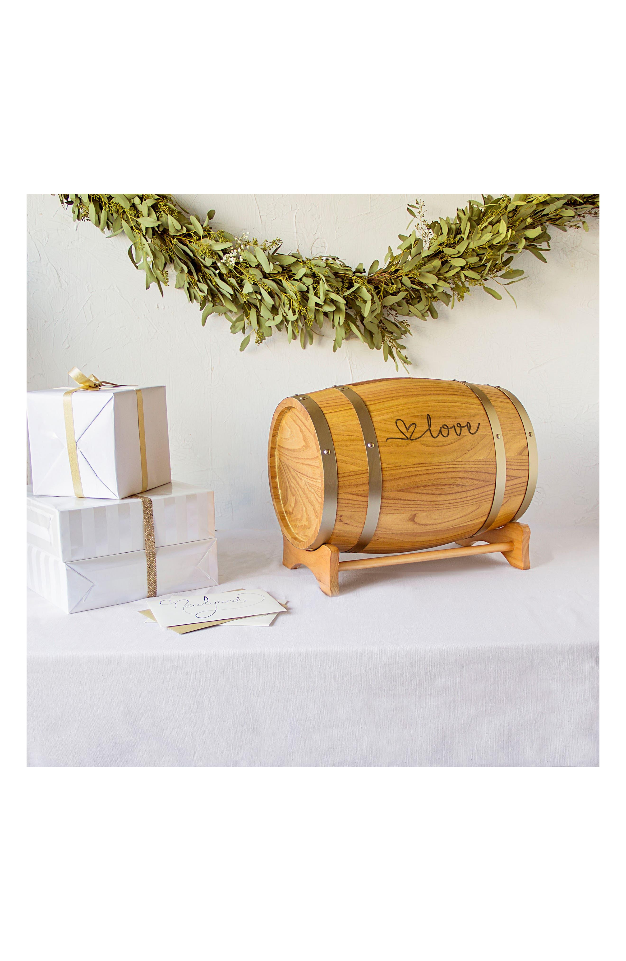 Wine Barrel Reception Card Holder,                             Alternate thumbnail 33, color,