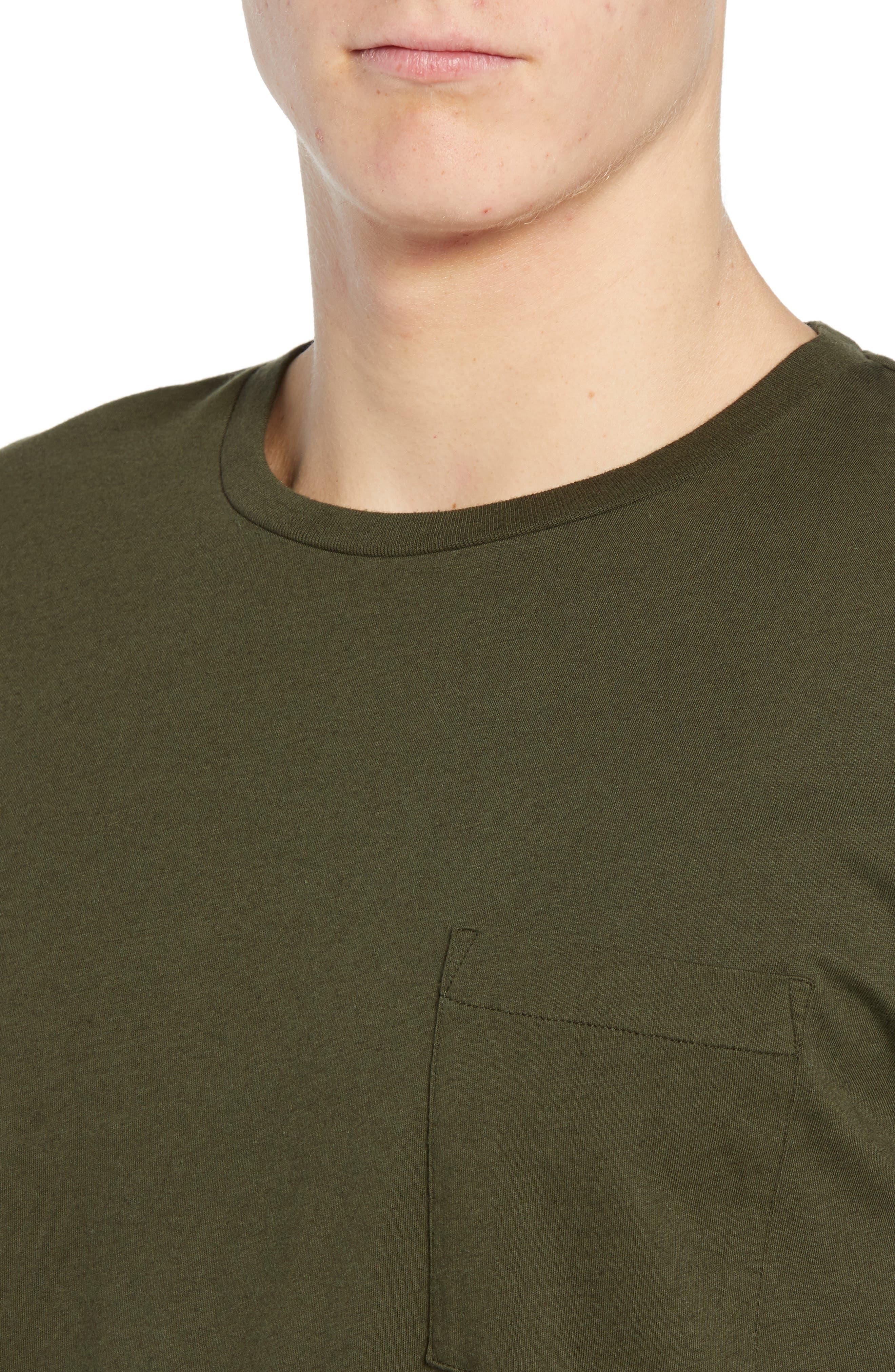 Slim Fit Pocket T-Shirt,                             Alternate thumbnail 4, color,                             300