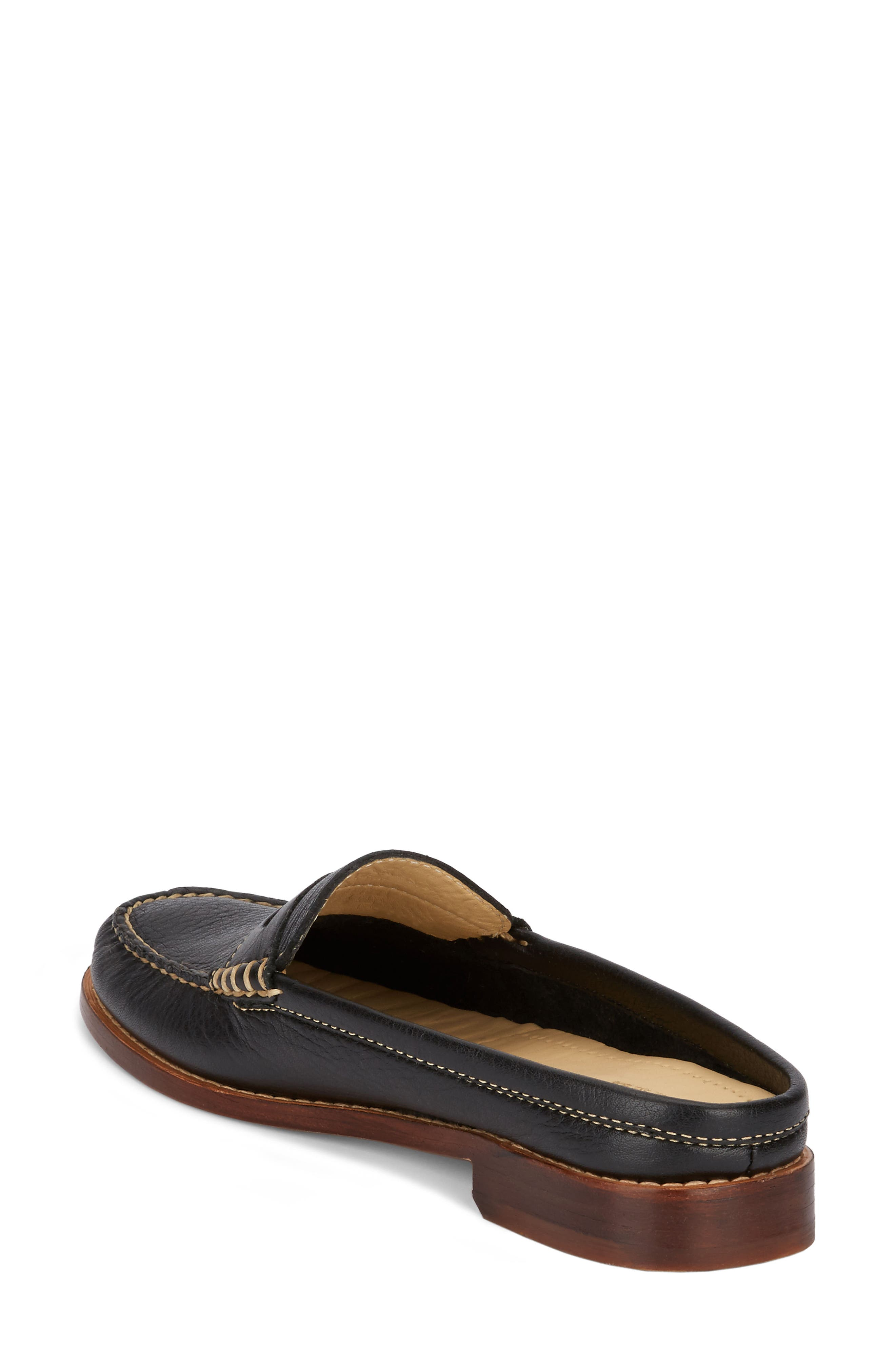 Wynn Loafer Mule,                             Alternate thumbnail 2, color,                             002
