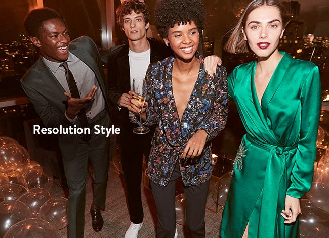 Resolution Style: holiday party outfits.