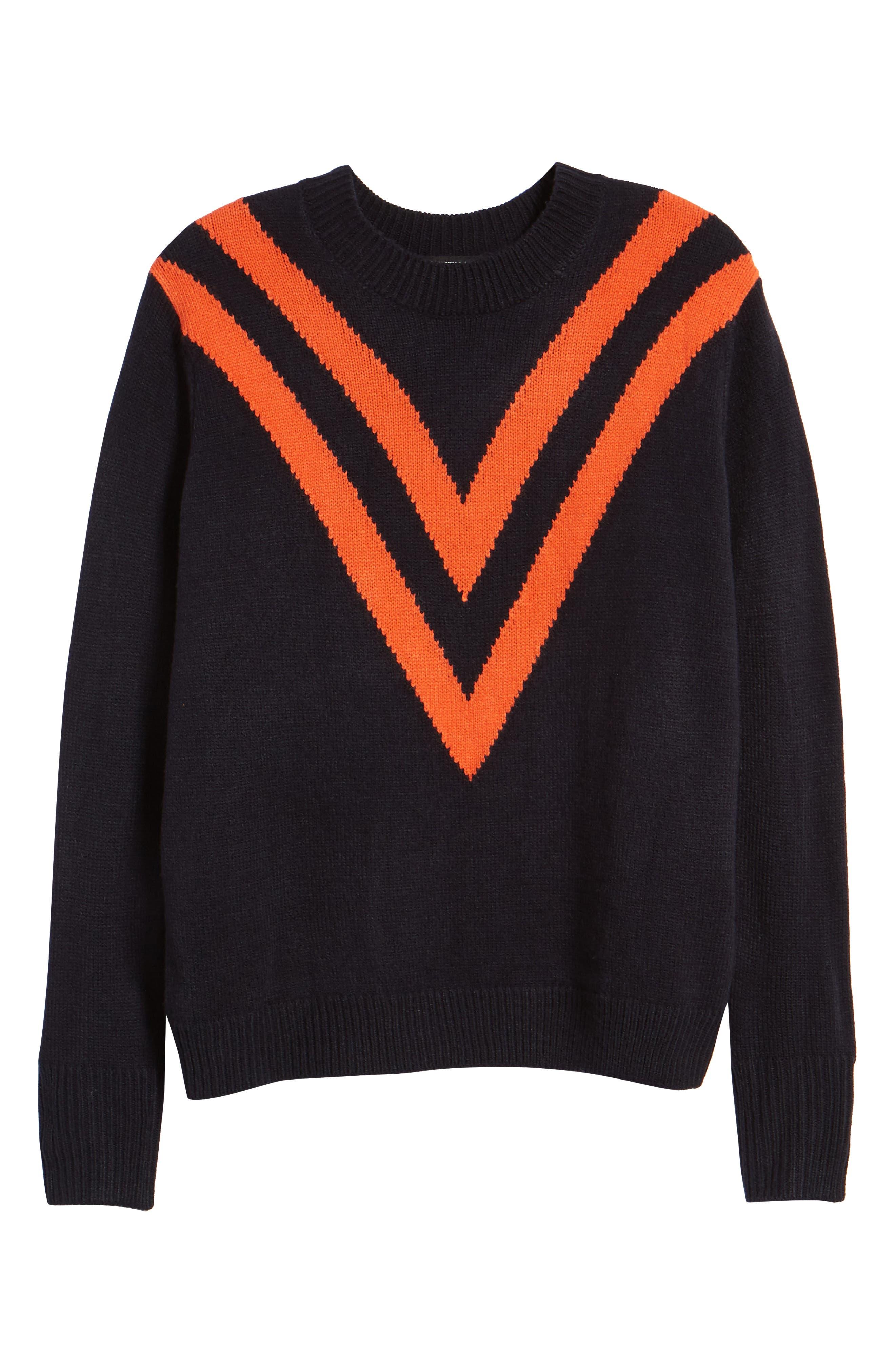 Varsity Sweater,                             Alternate thumbnail 6, color,                             400