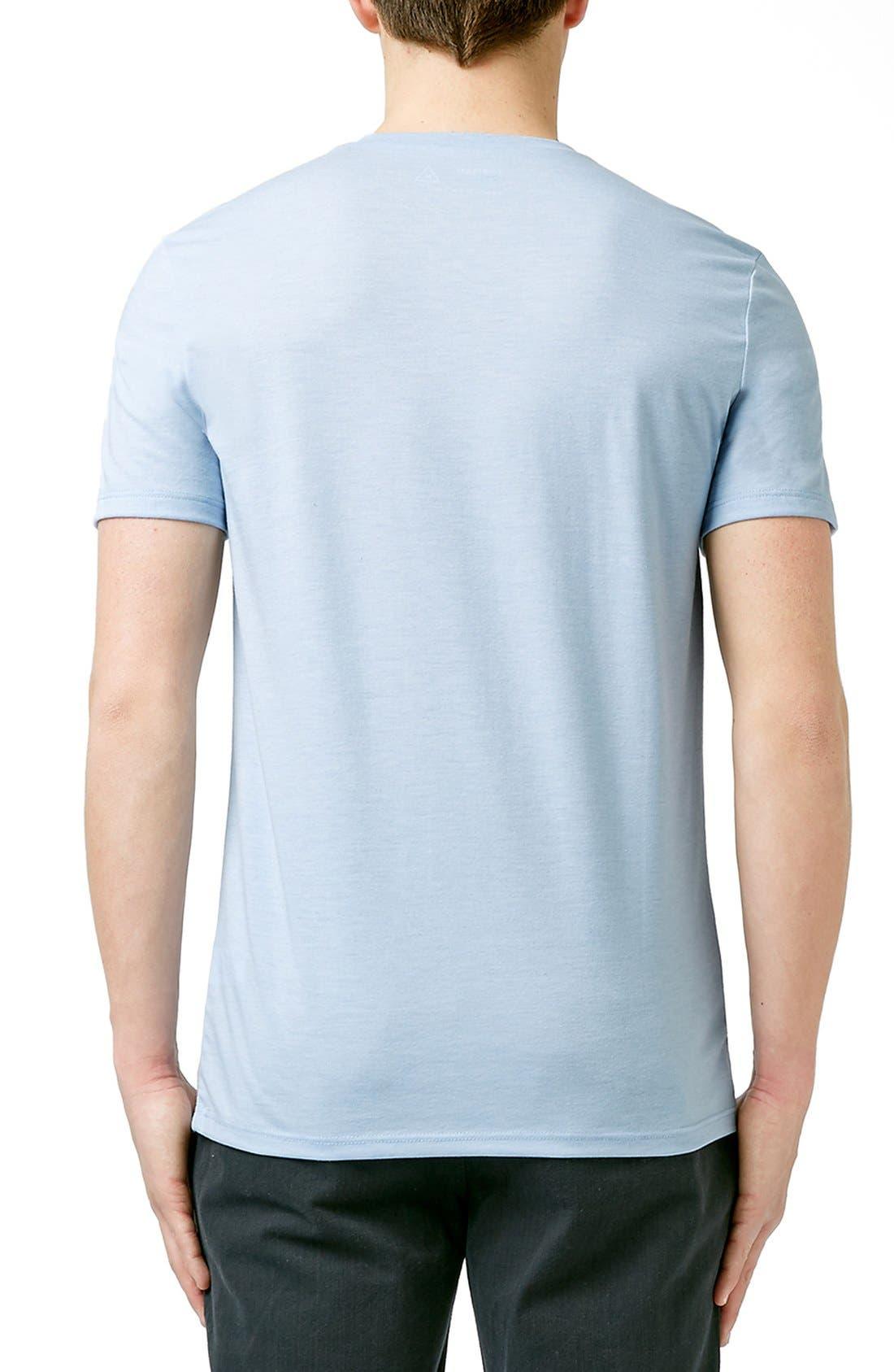 Slim Fit Crewneck T-Shirt,                             Alternate thumbnail 355, color,
