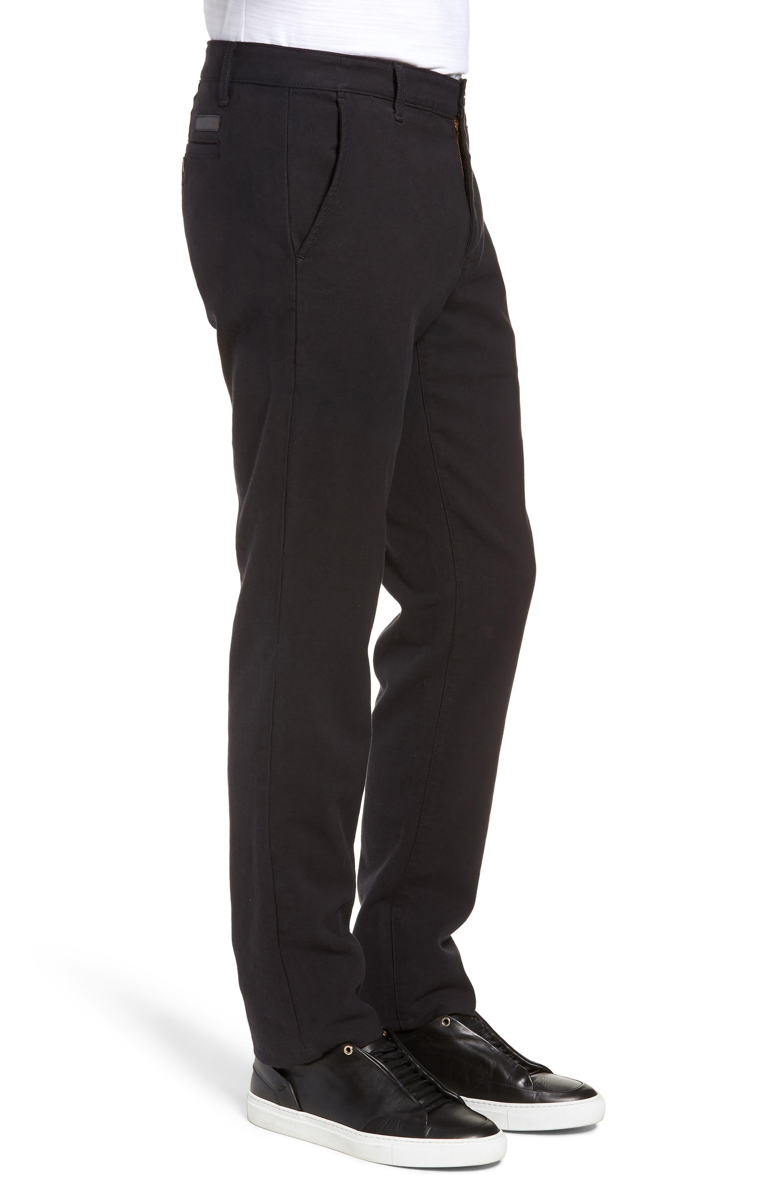 Marshall Slim Fit Chino Pants,                             Alternate thumbnail 3, color,                             GREY STONE