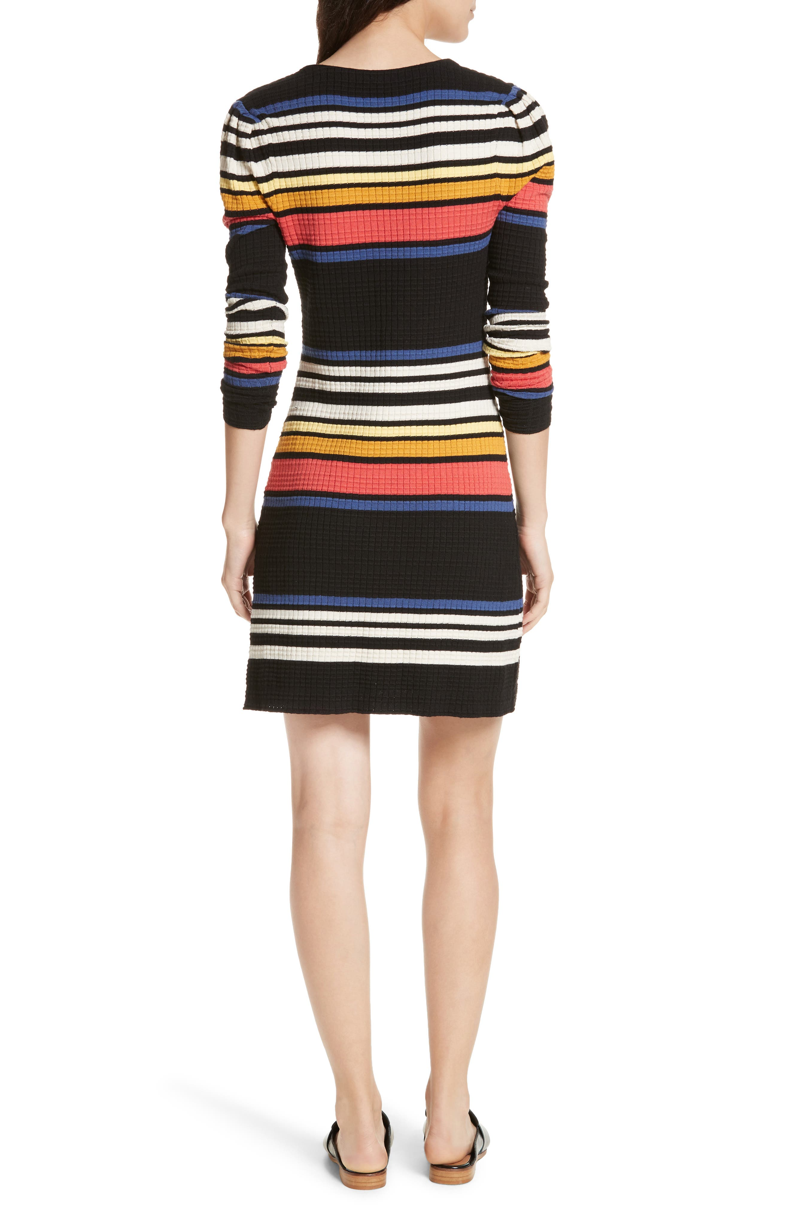Gidget Sweater Dress,                             Alternate thumbnail 2, color,                             001