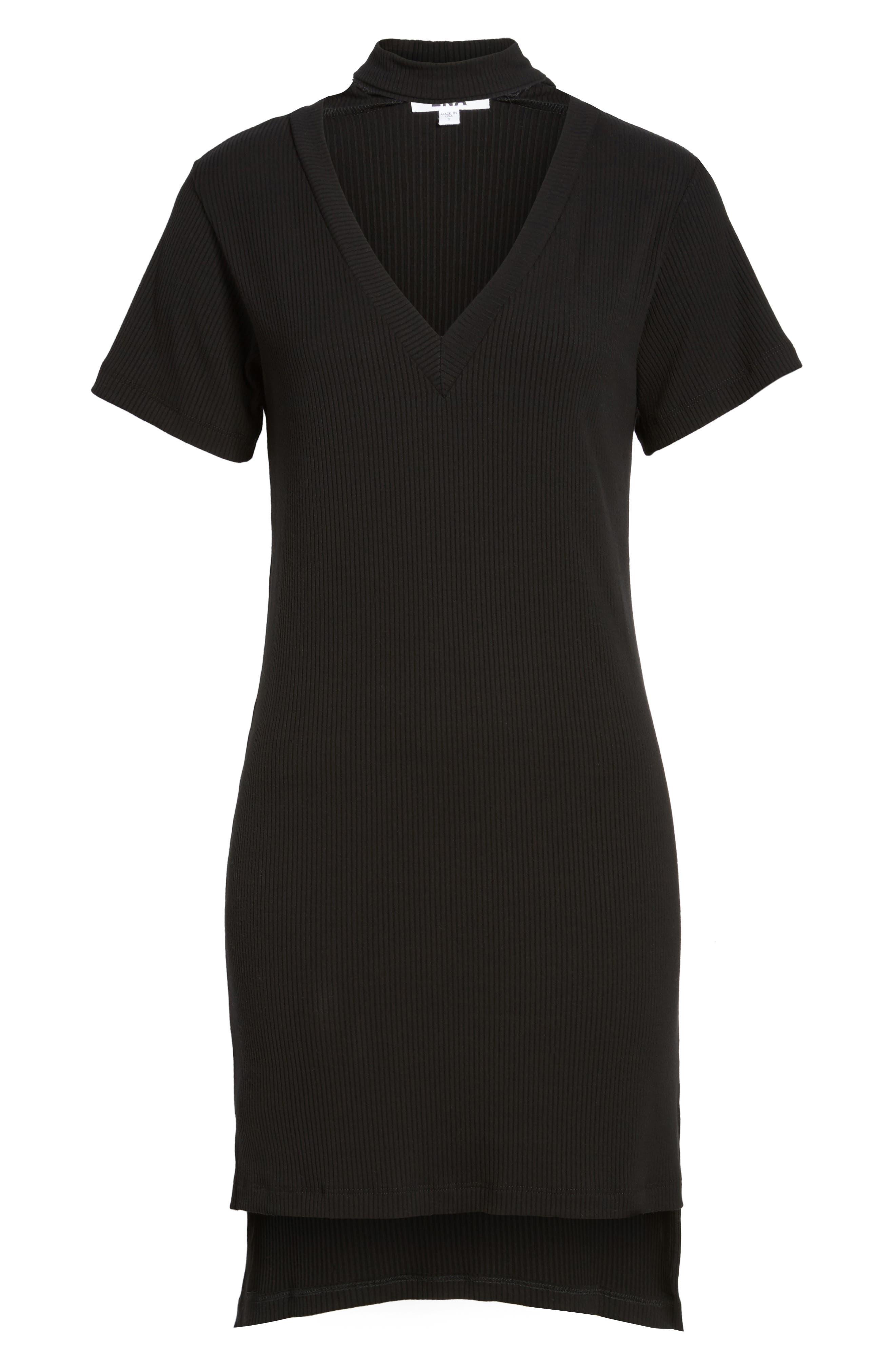 Klassen Choker Dress,                             Alternate thumbnail 6, color,                             001