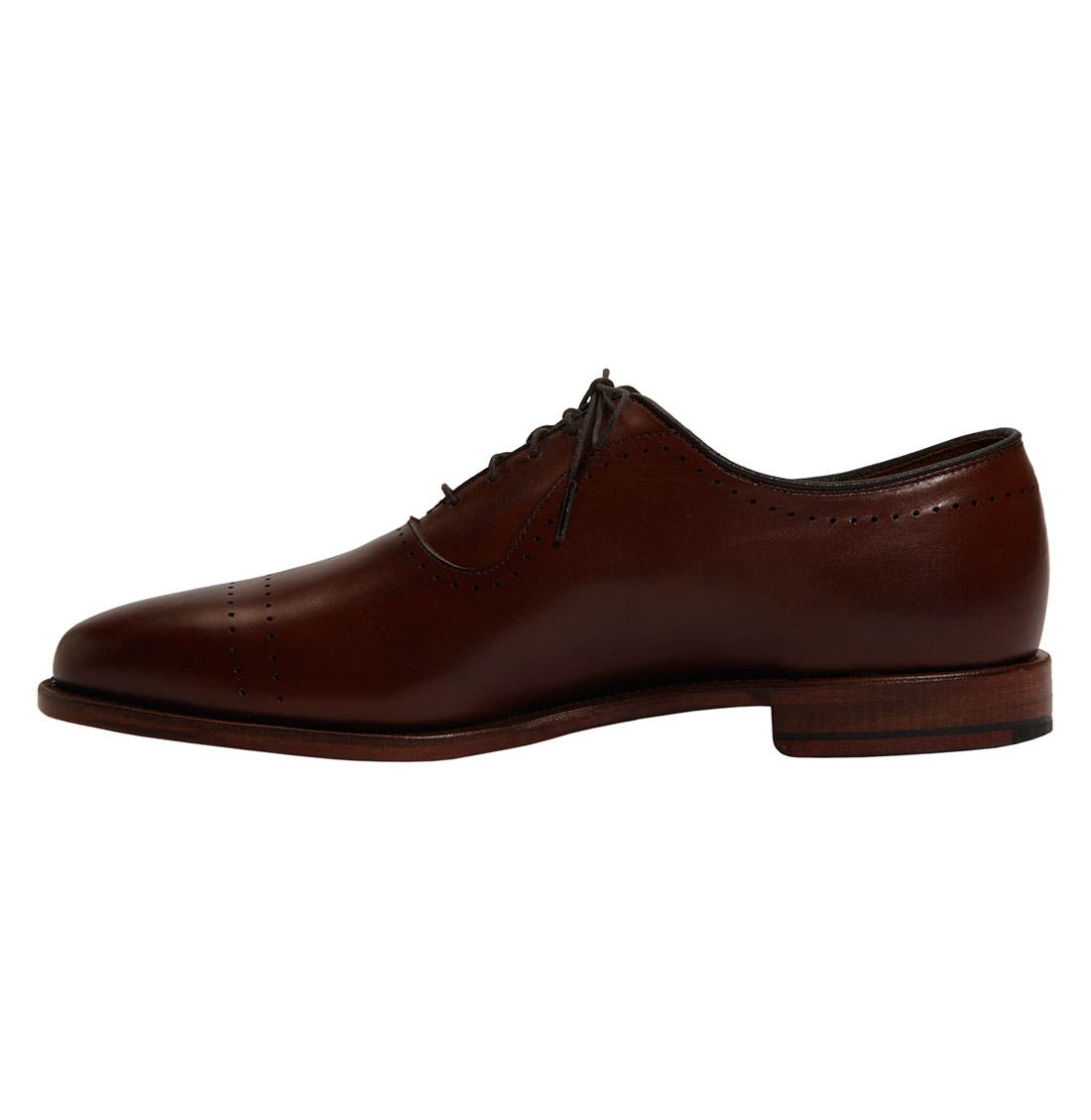'Vernon' Oxford,                             Alternate thumbnail 2, color,                             SADDLE BROWN CALF