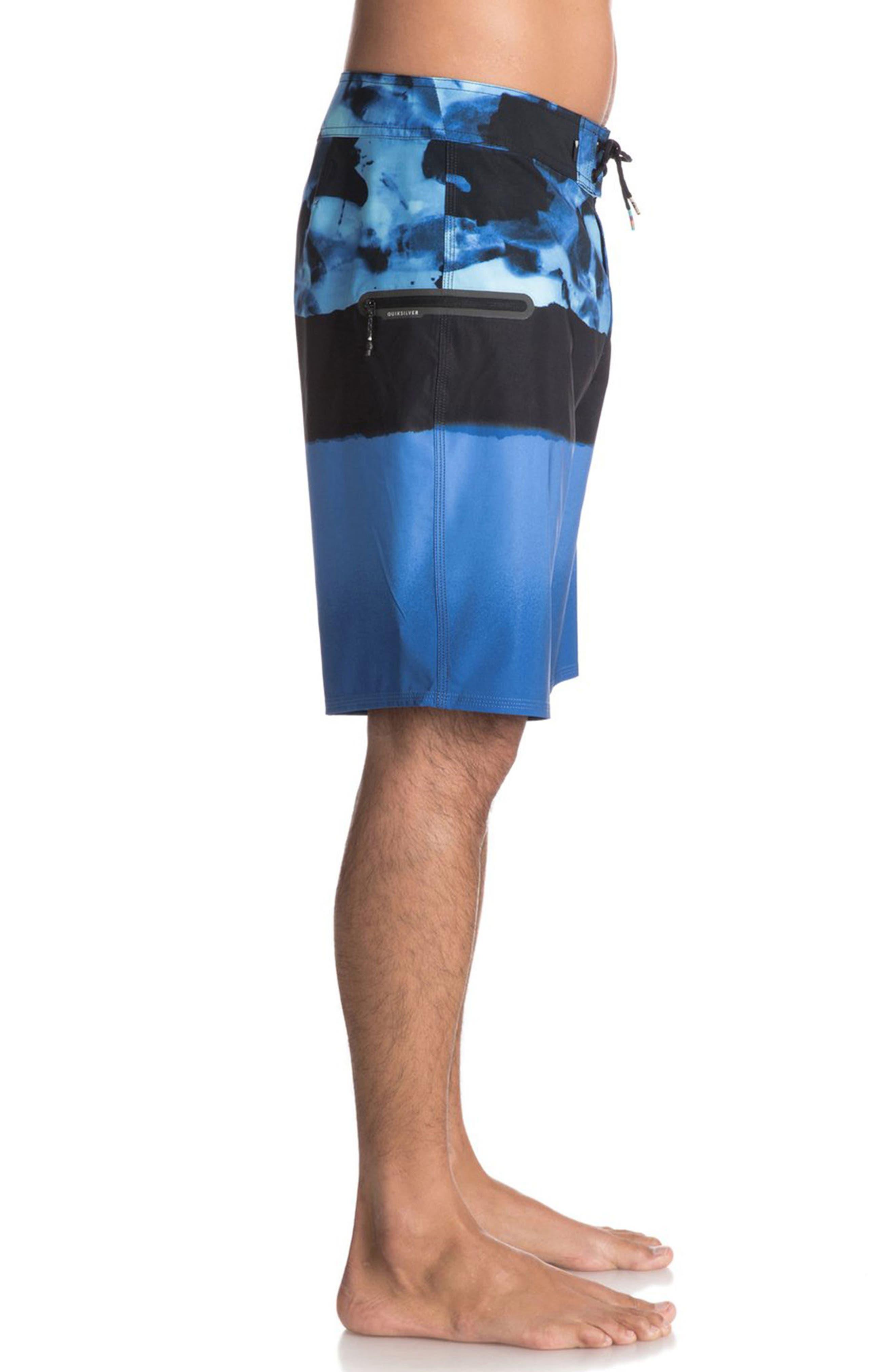 Blocked Resin Board Shorts,                             Alternate thumbnail 8, color,