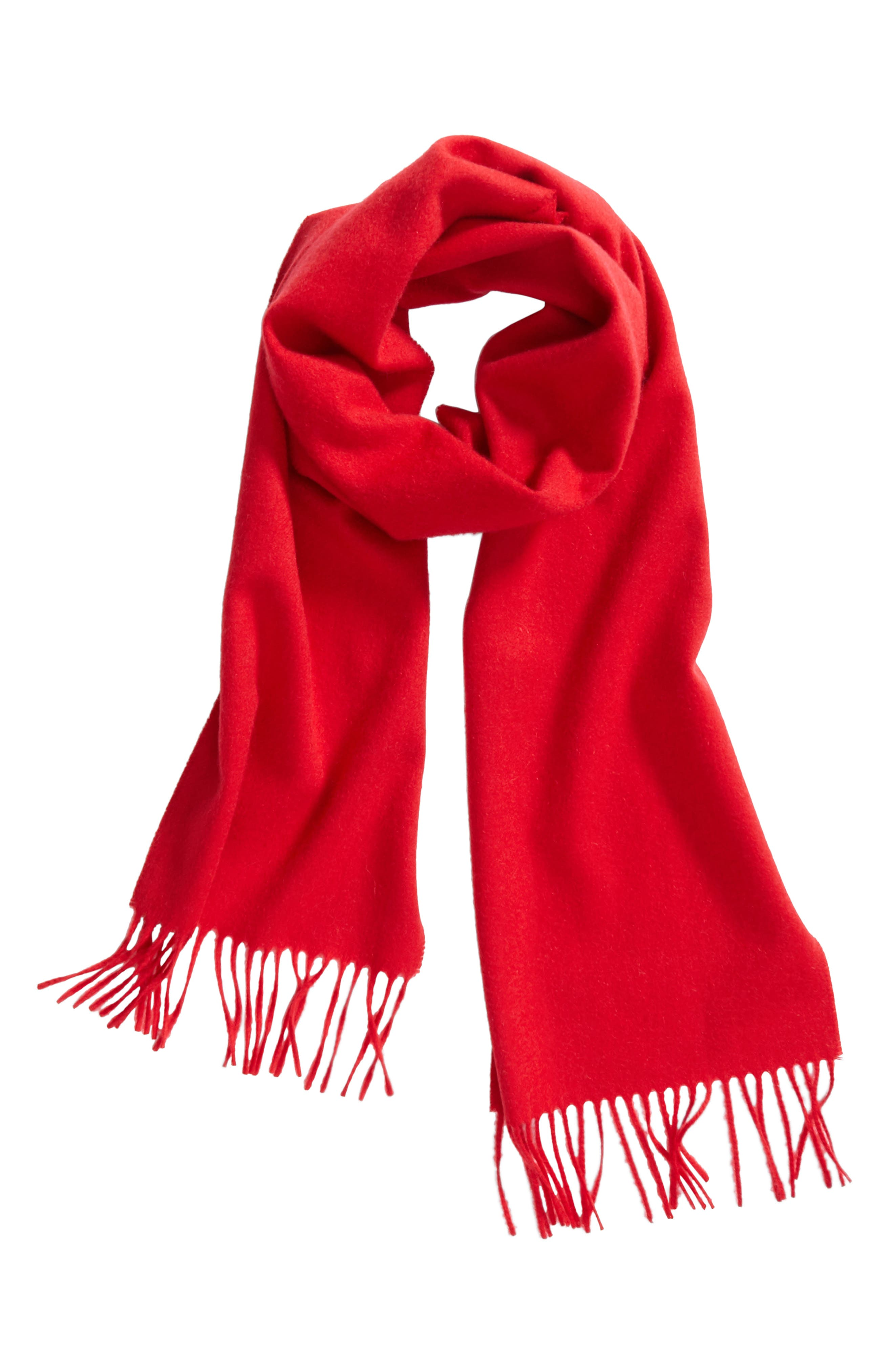 Solid Woven Cashmere Scarf,                             Alternate thumbnail 32, color,