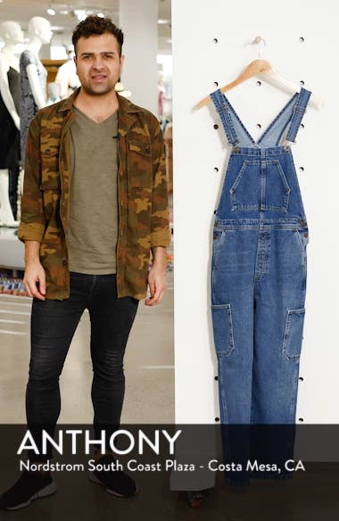 Urban Outfitters Workwear Denim Overalls, sales video thumbnail