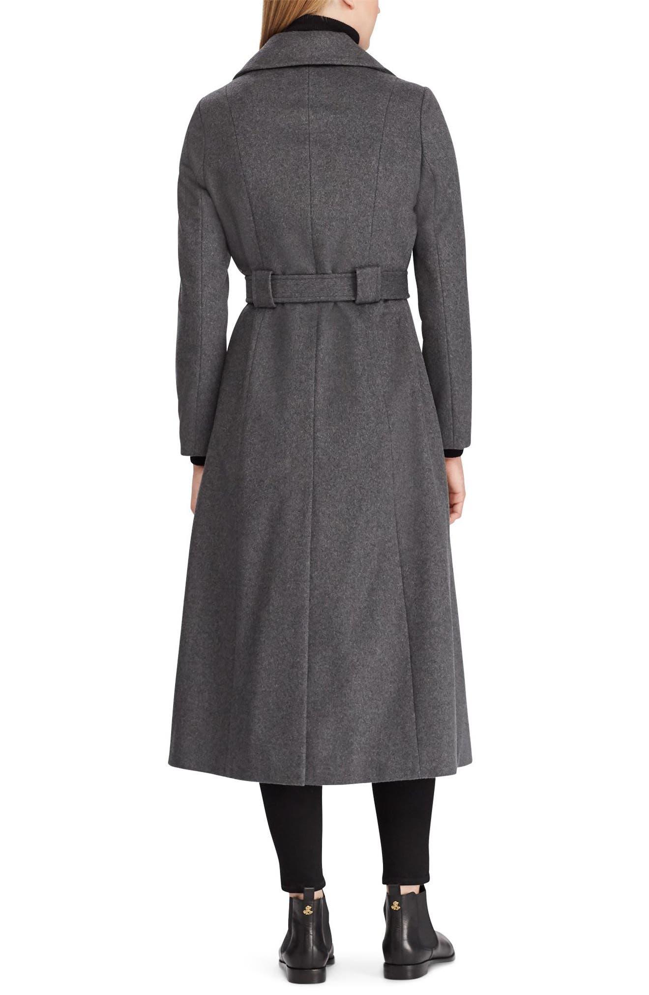 Wrap Overcoat,                             Alternate thumbnail 2, color,                             CHARCOAL