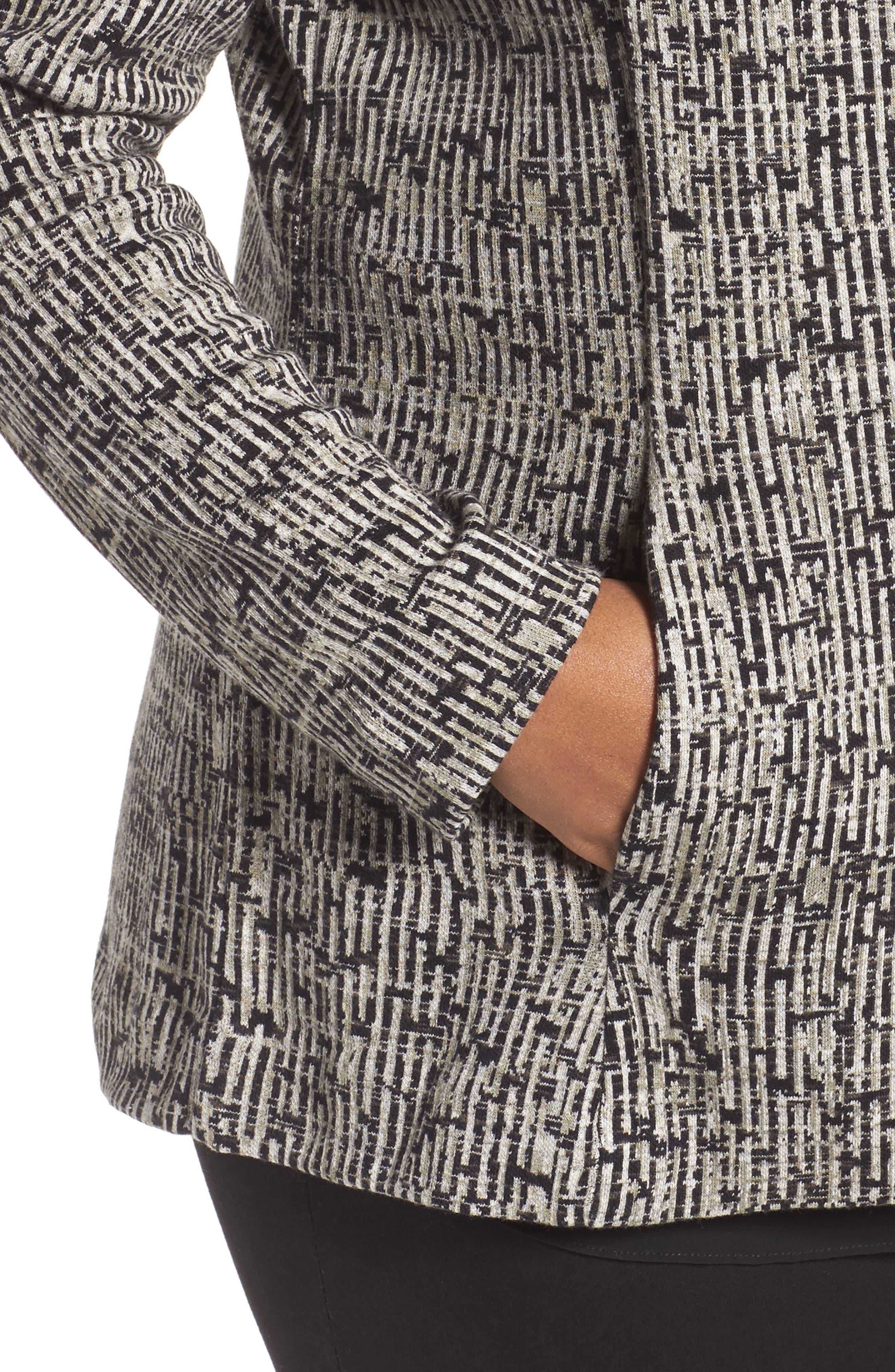 Trail Blazer Jacket,                             Alternate thumbnail 4, color,                             BLACK MULTI