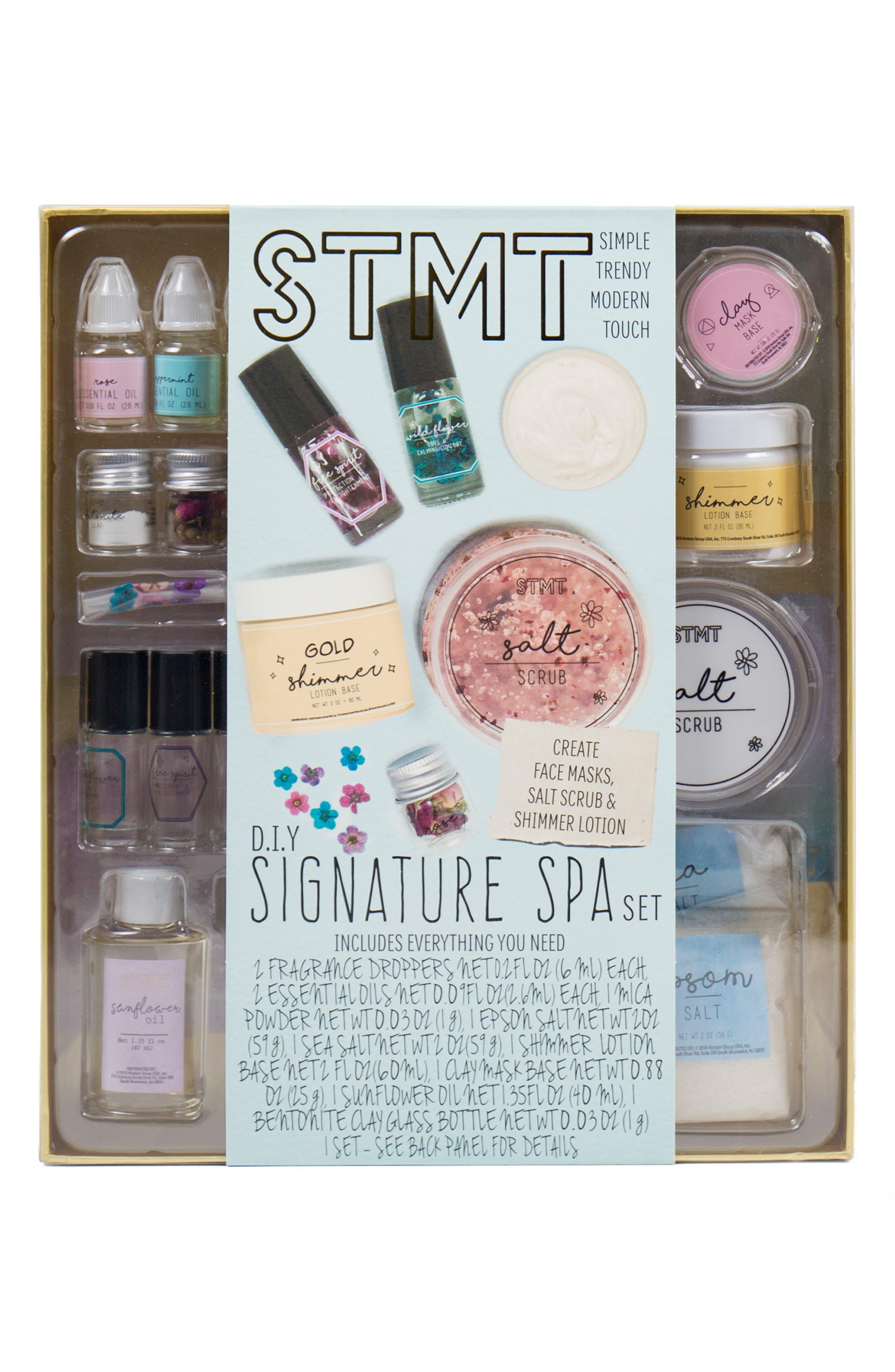 Signature Spa Kit,                             Main thumbnail 1, color,                             MULTI