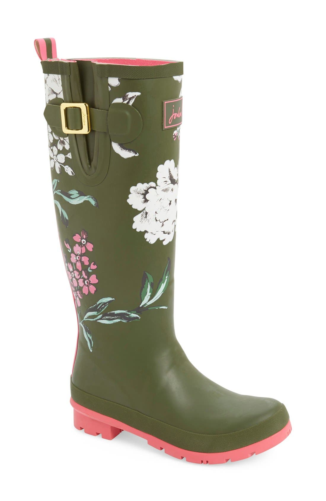 'Welly' Print Rain Boot,                             Main thumbnail 33, color,