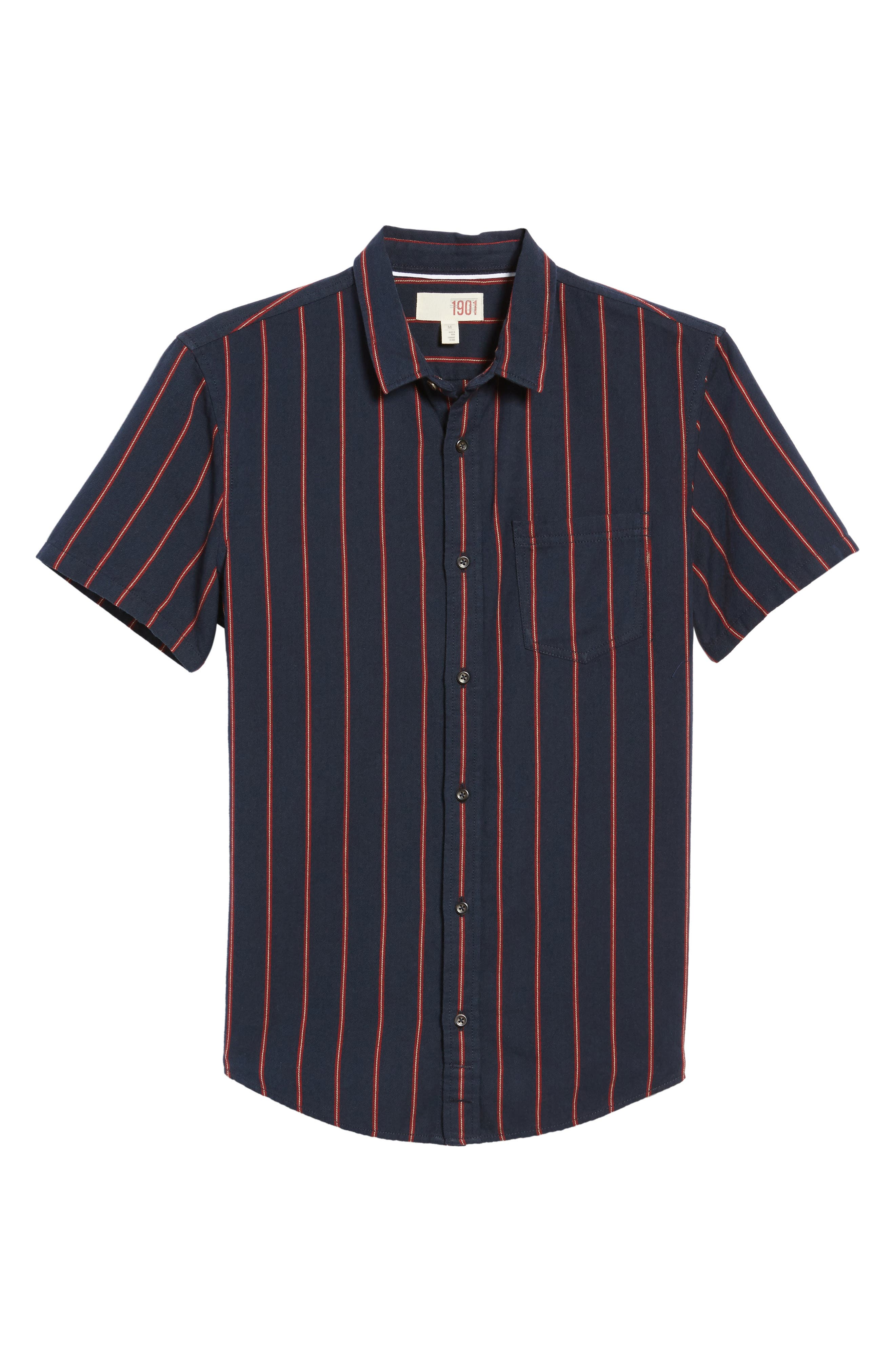 The Rail Short Sleeve Twill Shirt,                             Alternate thumbnail 11, color,