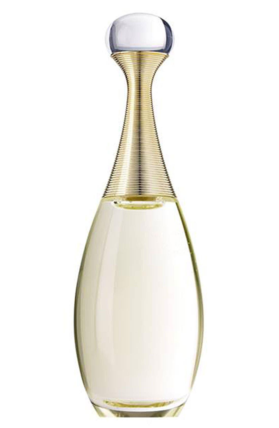 DIOR,                             'J'adore L'Eau' Eau de Parfum Spray,                             Main thumbnail 1, color,                             000