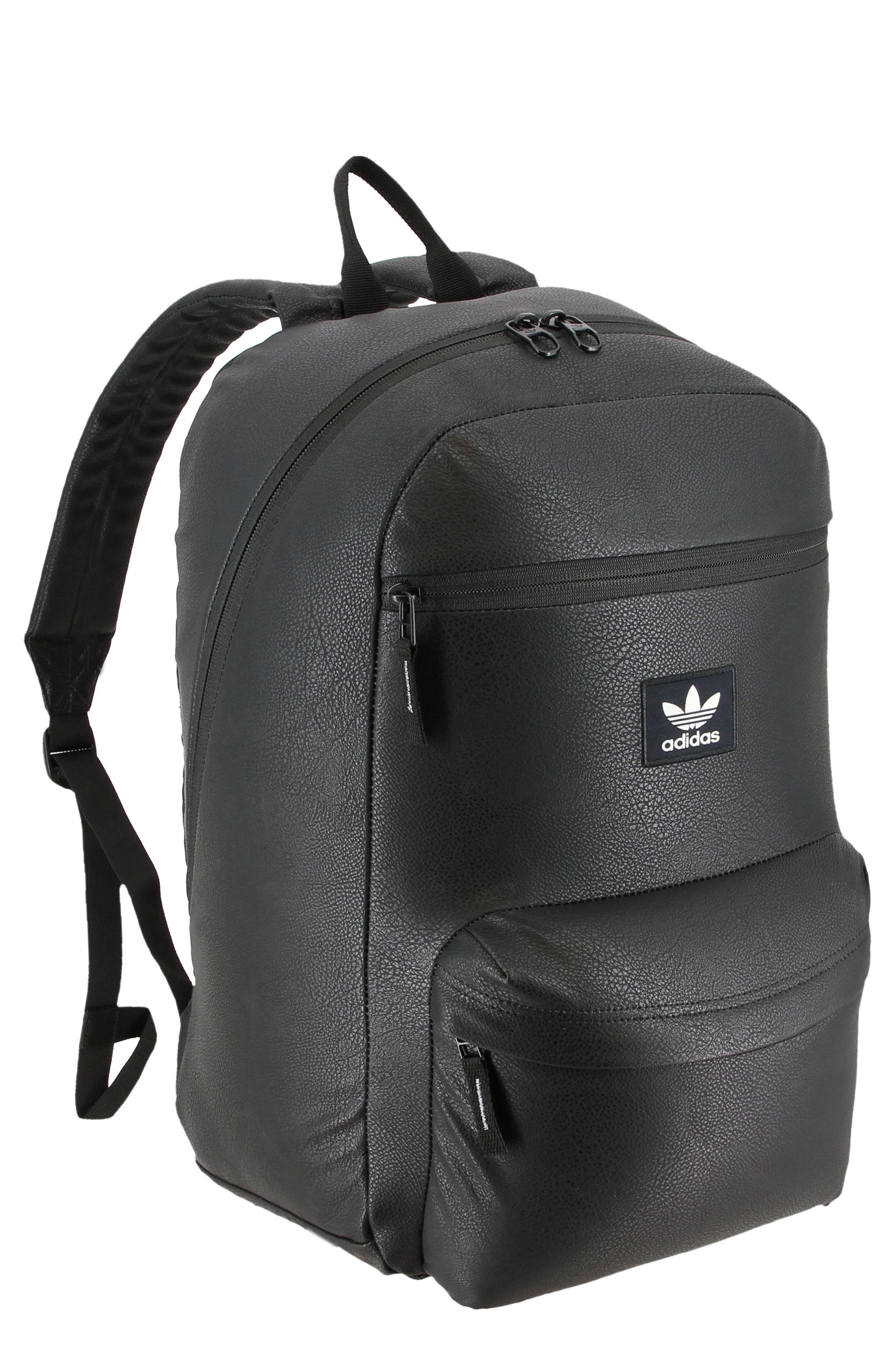 adidas National Premium Backpack,                             Main thumbnail 1, color,                             BLACK