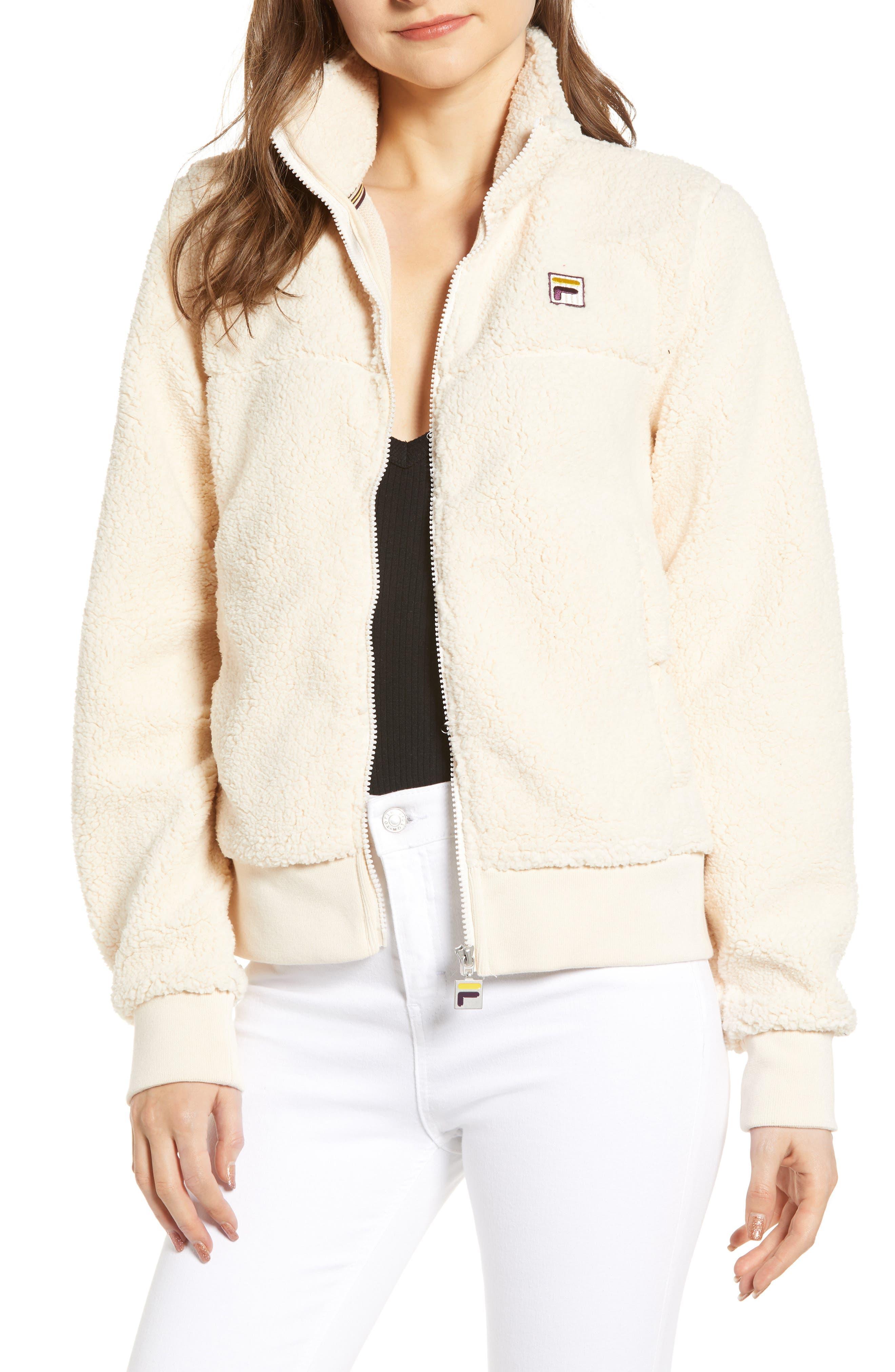 Fila Islae Fleece Jacket, Beige