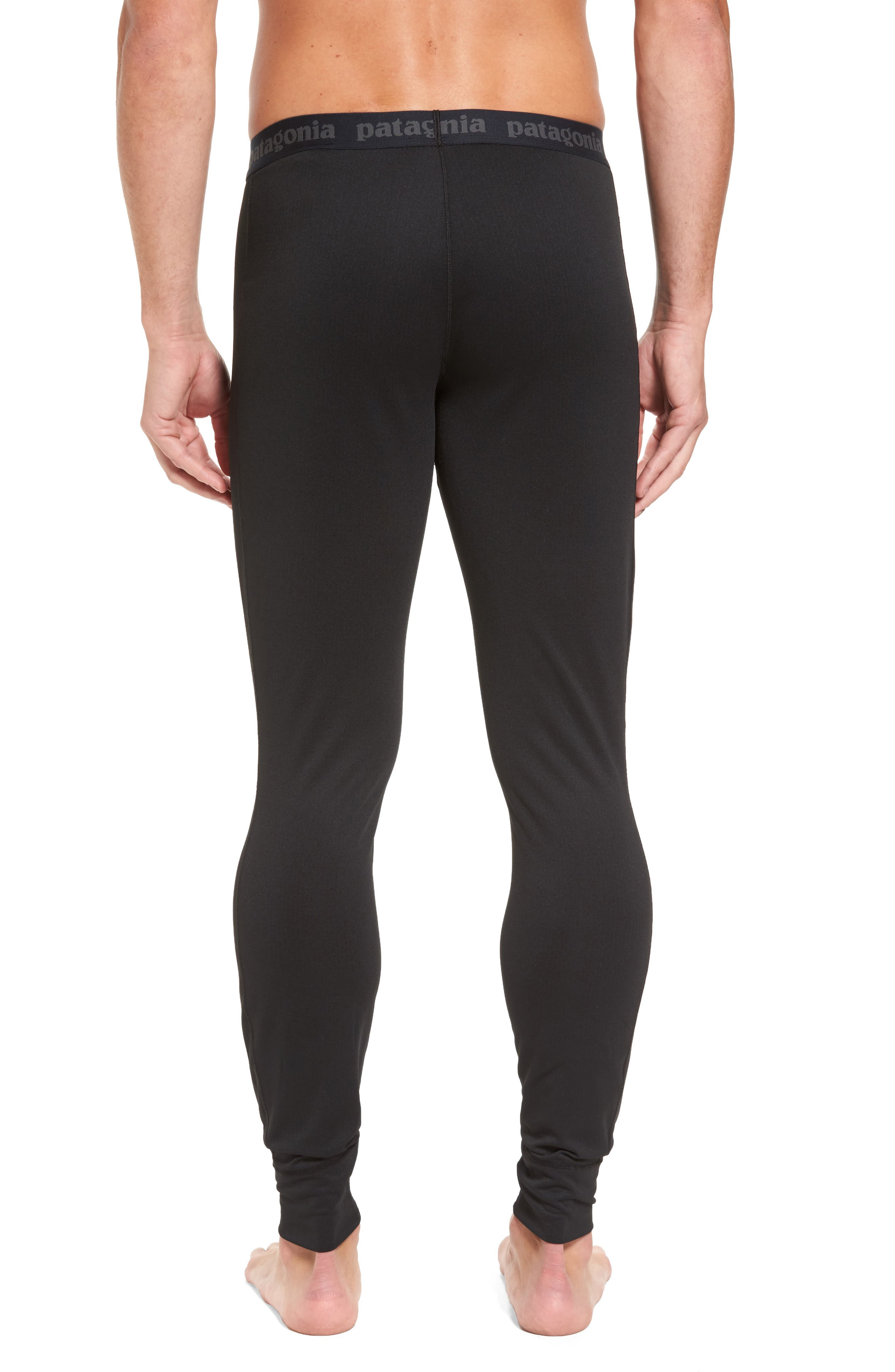 Capilene Midweight Base Layer Tights,                             Alternate thumbnail 2, color,                             001