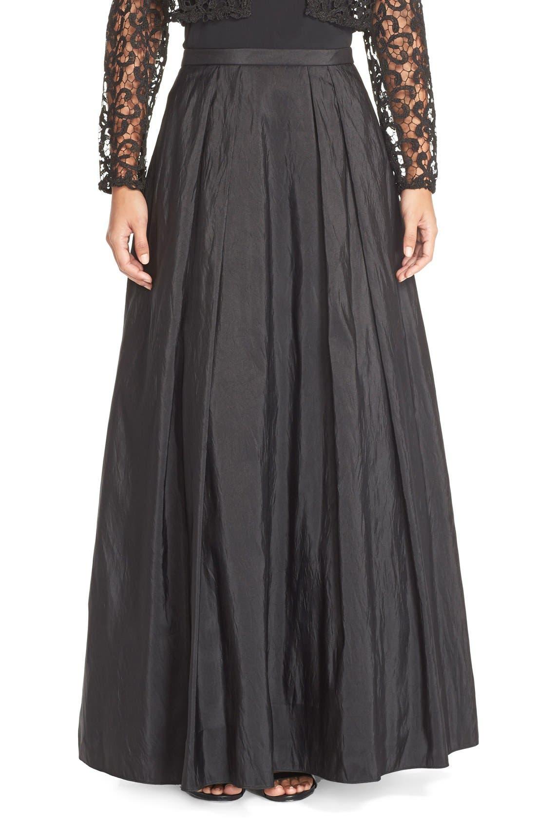 Taffeta Ball Skirt,                         Main,                         color, 001