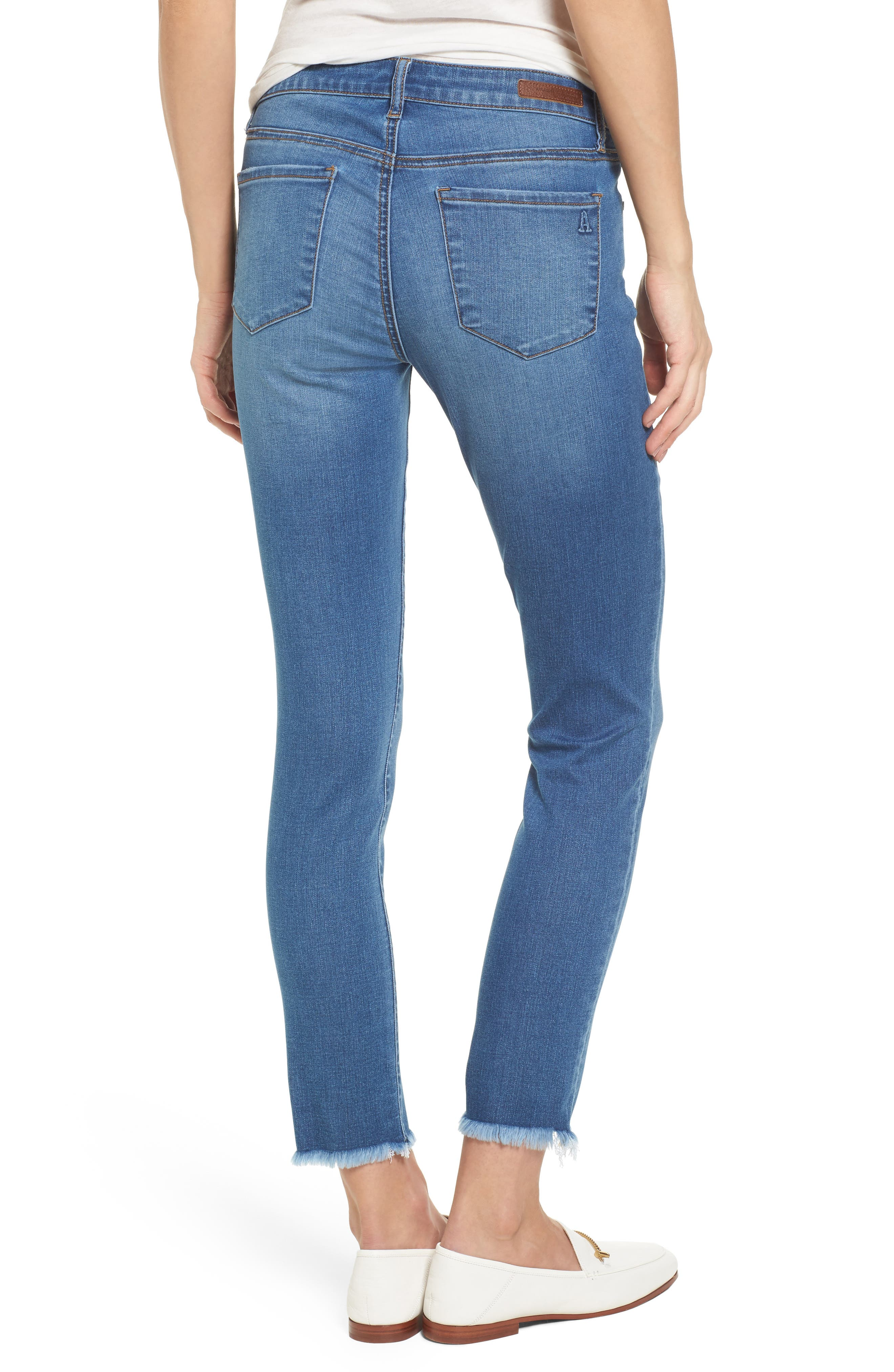 Carly Ankle Skinny Jeans,                             Alternate thumbnail 2, color,                             400