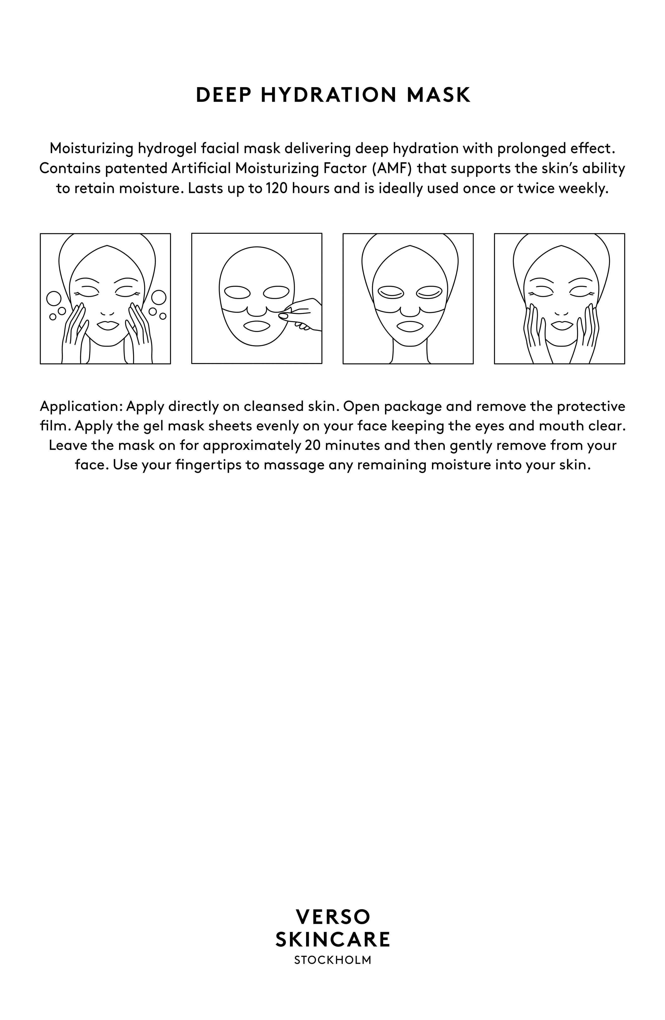 SPACE.NK.apothecary Verso Deep Hydration Mask,                             Alternate thumbnail 4, color,                             NO COLOR