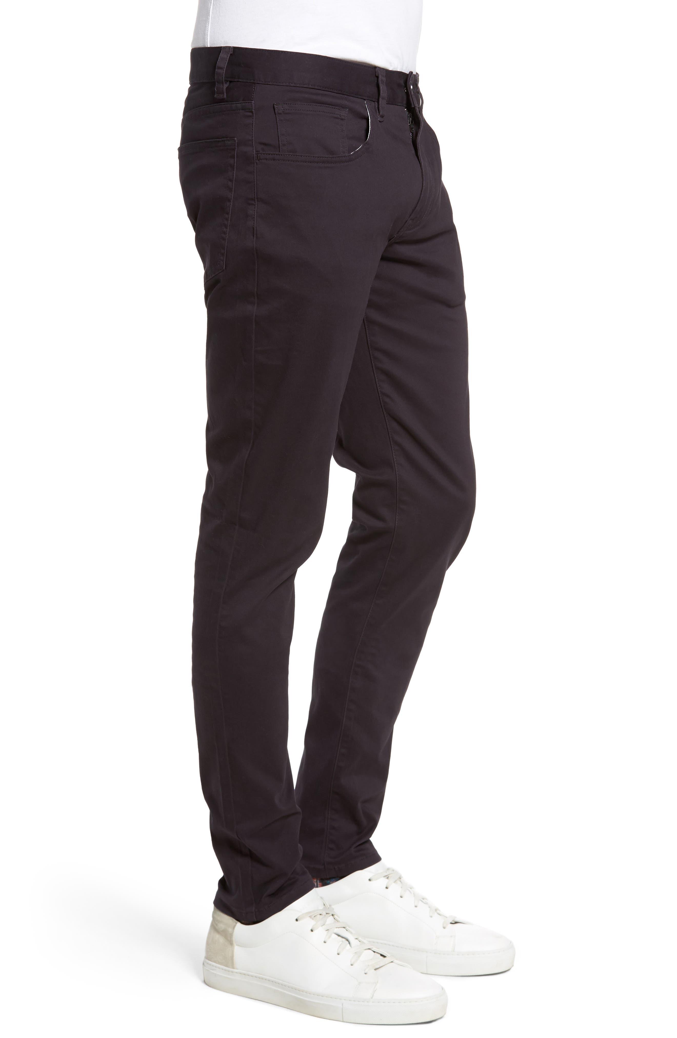 Slim Stretch Twill Pants,                             Alternate thumbnail 9, color,