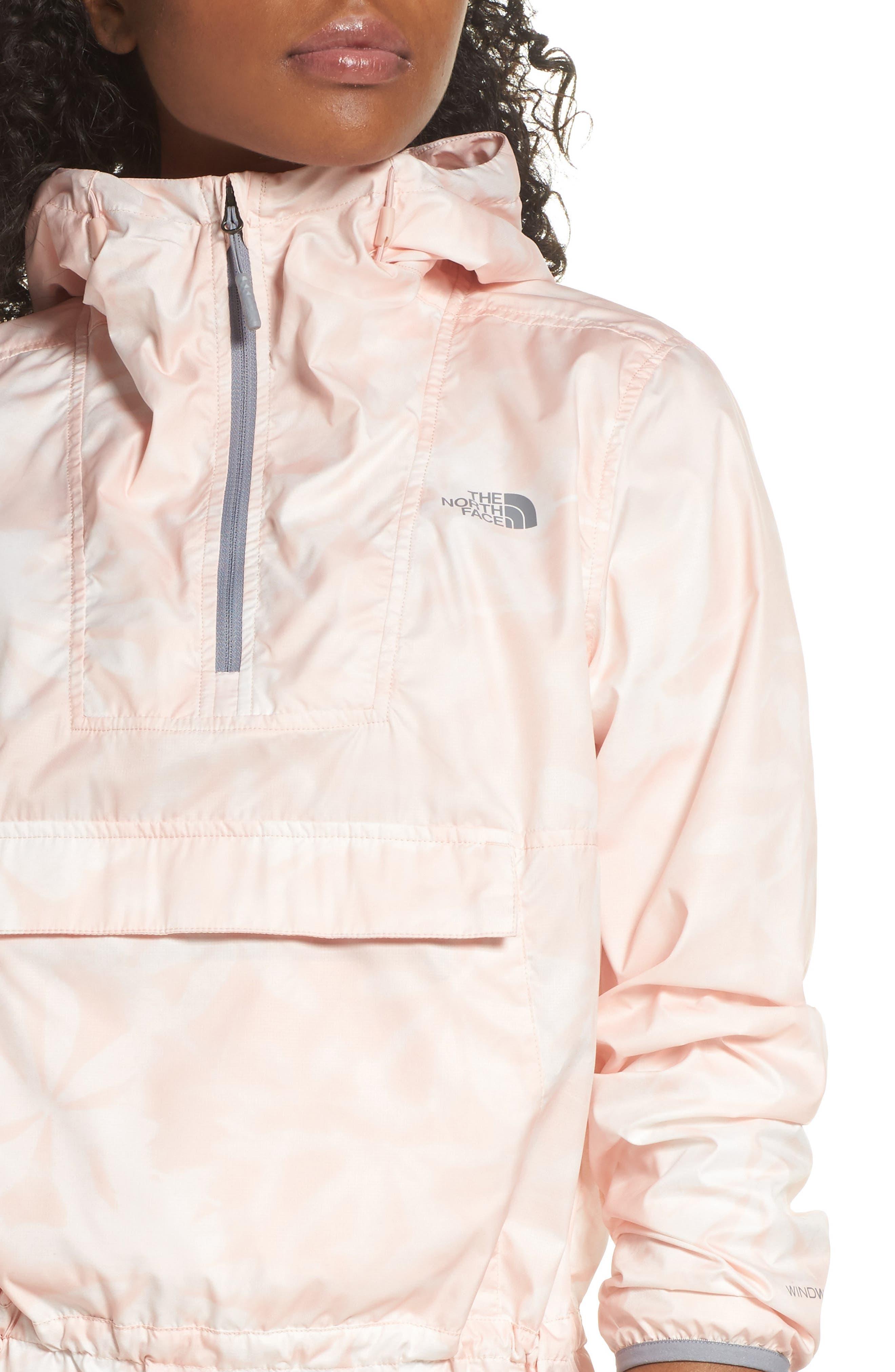 Fanorak Jacket,                             Alternate thumbnail 6, color,                             EVENING SAND LUPINE PRINT