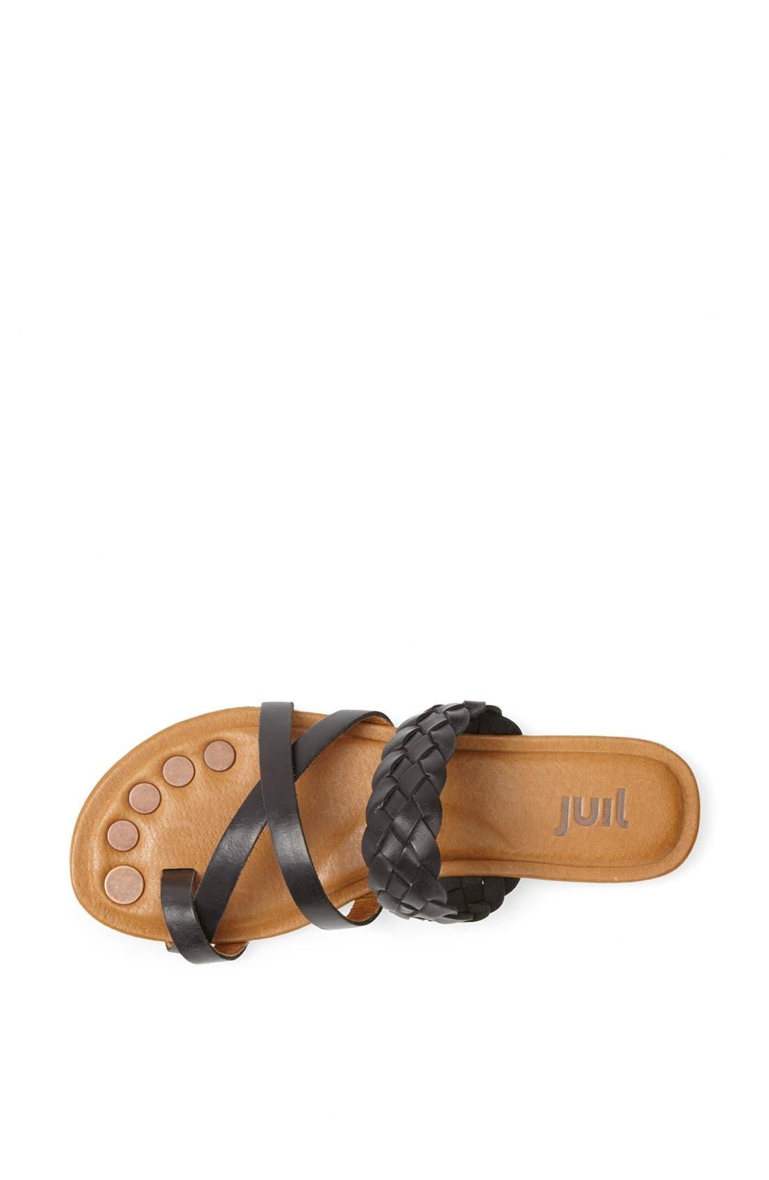 'Santi' Leather Sandal,                             Alternate thumbnail 3, color,                             010