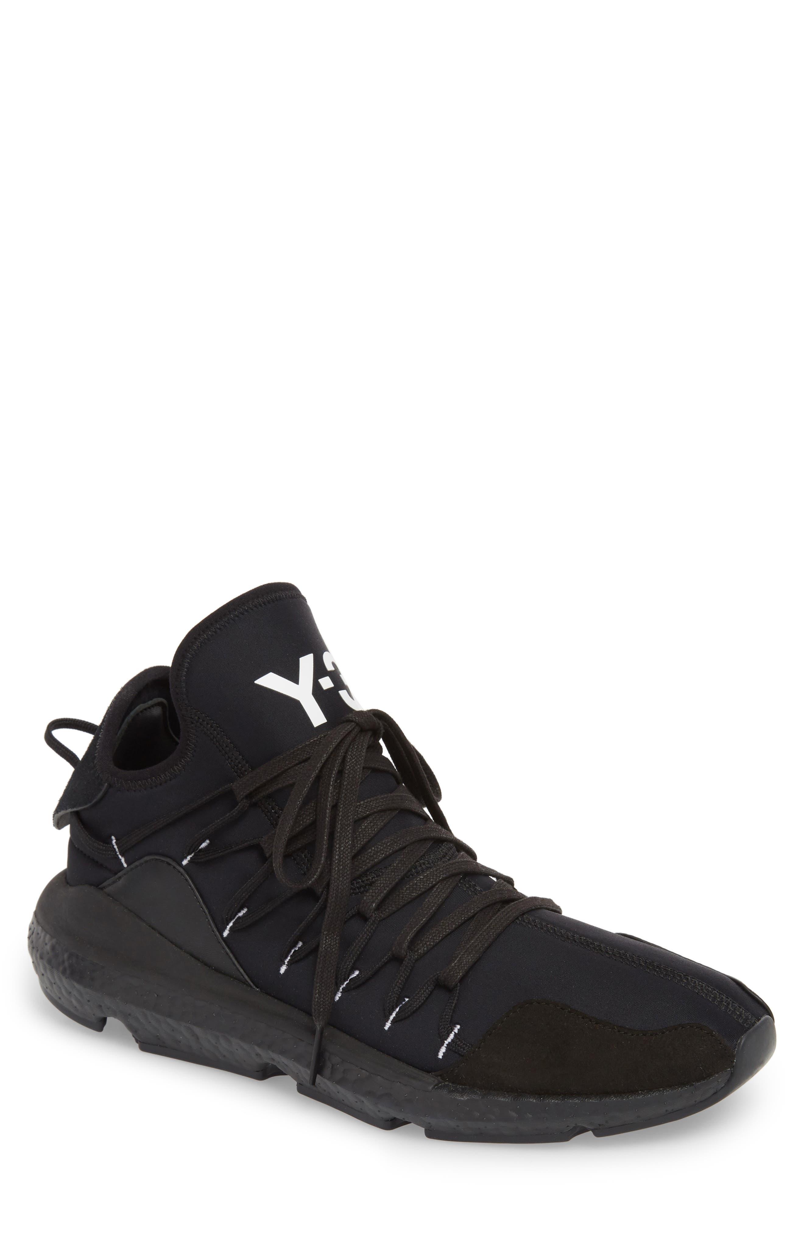 x adidas Kusari Sneaker,                             Main thumbnail 1, color,                             BLACK/BLACK