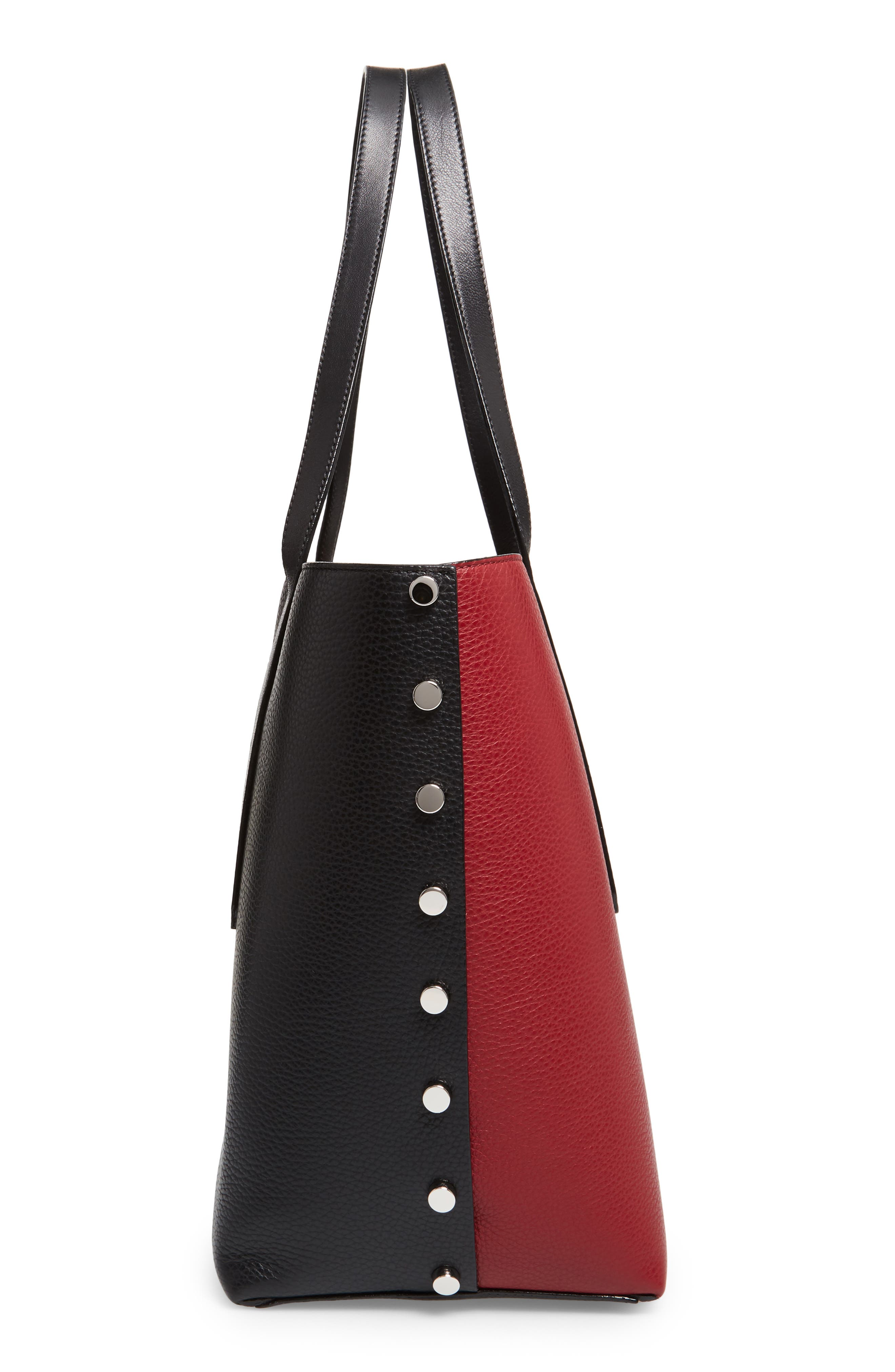 Twist East West Tote,                             Alternate thumbnail 5, color,
