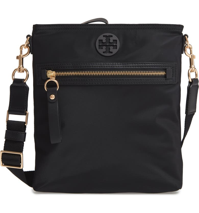 4644c4c86bc8 Tory Burch Tilda Nylon Swing Pack Crossbody In Black