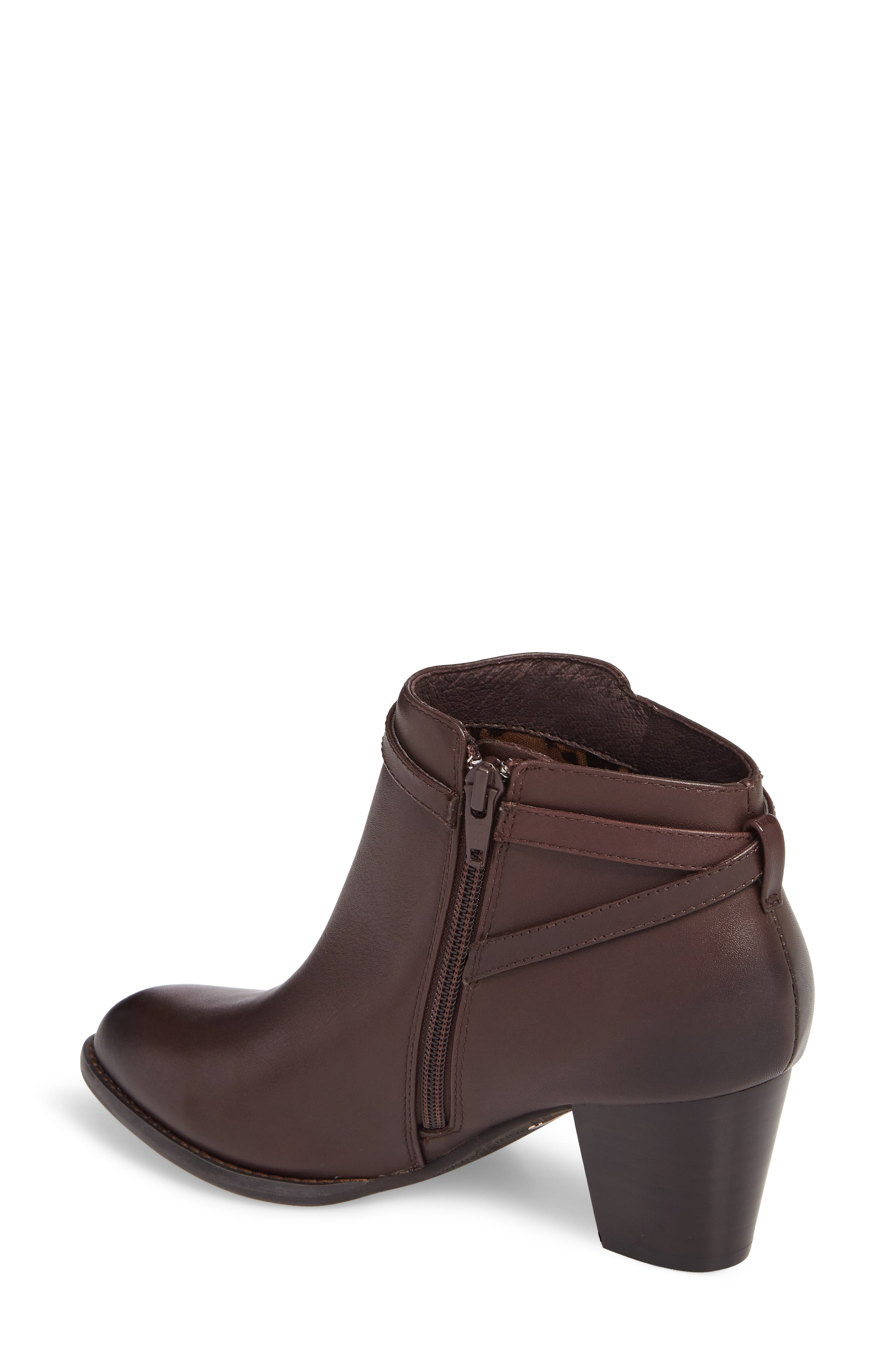 'Upton' Block Heel Boot,                             Alternate thumbnail 4, color,